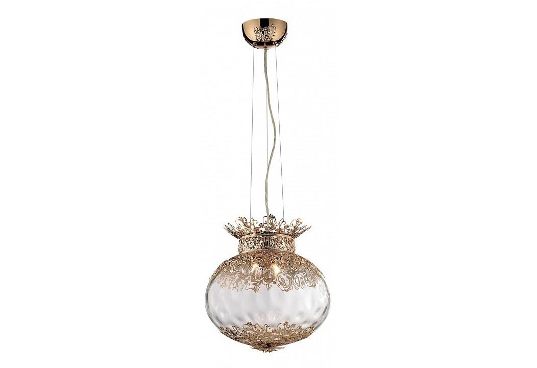 Подвесной светильник PetraПодвесные светильники<br>Вид цоколя: G9Мощность: 40WКоличество ламп: 4 (нет в комплекте)Материал арматуры - металлМатериал плафонов и подвесок - металл, стекло