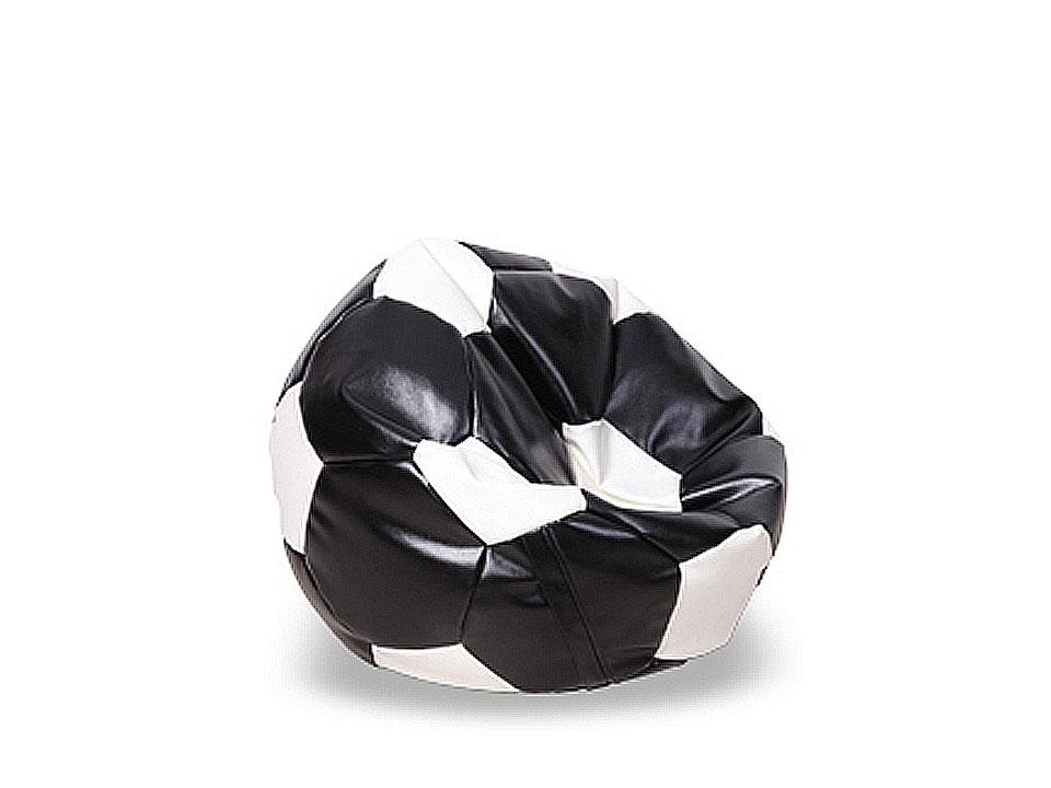 Пуф FootballКожаные пуфы<br>&amp;lt;div&amp;gt;Пуф бескаркасный в форме футбольного мяча. Предусмотрена возможность дополнительной засыпки наполнителя, для этого имеется специальный клапан.&amp;lt;/div&amp;gt;&amp;lt;div&amp;gt;&amp;lt;br&amp;gt;&amp;lt;/div&amp;gt;&amp;lt;div&amp;gt;Материалы:&amp;lt;/div&amp;gt;&amp;lt;div&amp;gt;Чехол: экокожа.&amp;lt;/div&amp;gt;&amp;lt;div&amp;gt;Наполнение: гранулы пенополистирола.&amp;lt;/div&amp;gt;<br><br>Material: Кожа