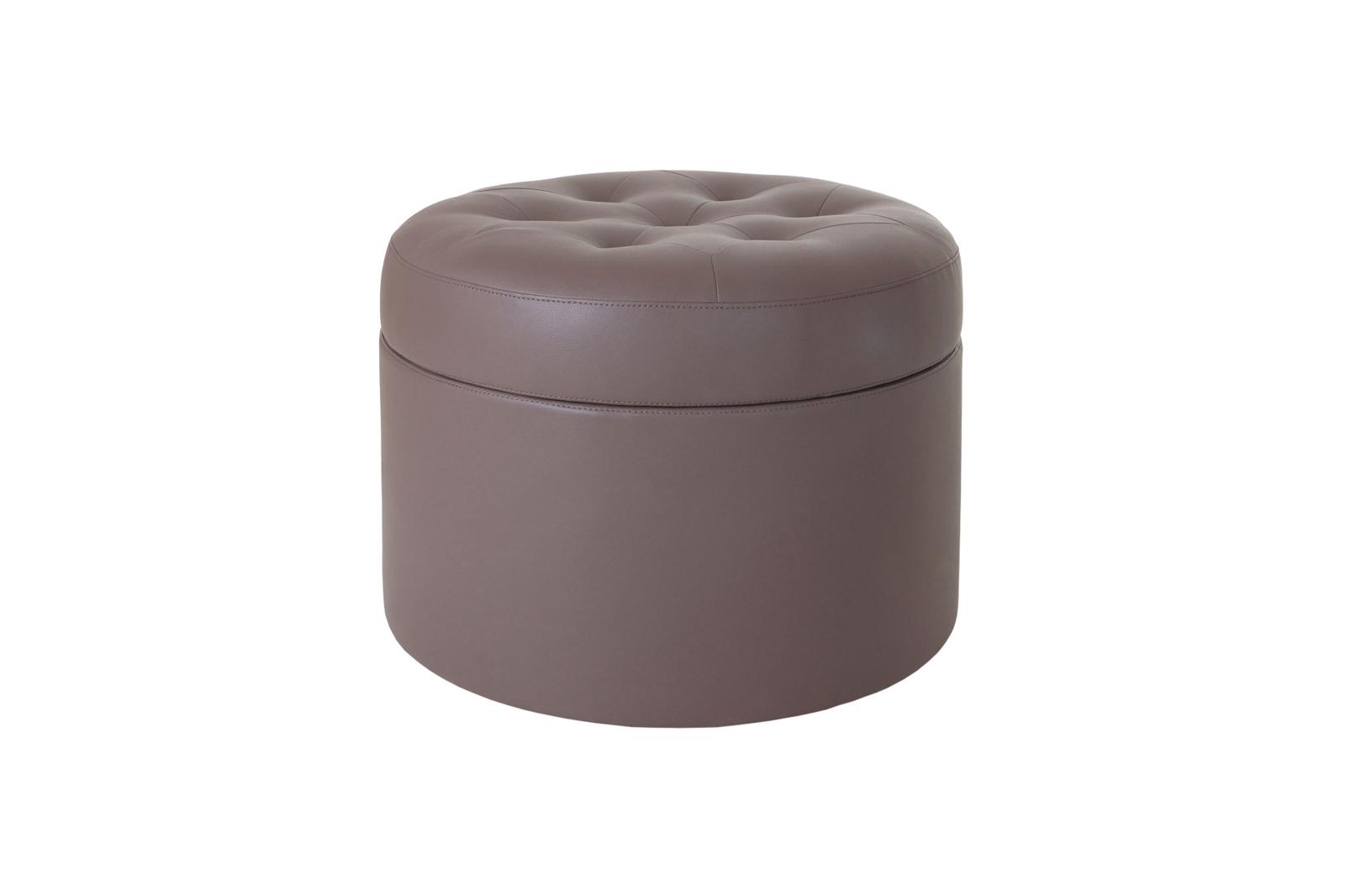 Пуф BarrelКожаные пуфы<br>&amp;lt;div&amp;gt;Пуф каркасный с ёмкостью для хранения. Верх оформлен декоративной строчкой и пуговицами.&amp;lt;/div&amp;gt;&amp;lt;div&amp;gt;&amp;lt;br&amp;gt;&amp;lt;/div&amp;gt;&amp;lt;div&amp;gt;Материалы:&amp;lt;/div&amp;gt;&amp;lt;div&amp;gt;Каркас: деревянный брус, фанера.&amp;lt;/div&amp;gt;&amp;lt;div&amp;gt;Сидение: пенополиуретан, синтепон.&amp;lt;/div&amp;gt;&amp;lt;div&amp;gt;Обивка: 100% экокожа.&amp;lt;/div&amp;gt;<br><br>Material: Кожа<br>Width см: None<br>Depth см: None<br>Height см: 45<br>Diameter см: 60