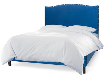 Мягкая кровать icon (myfurnish) синий 170.0x130.0x212.0 см.
