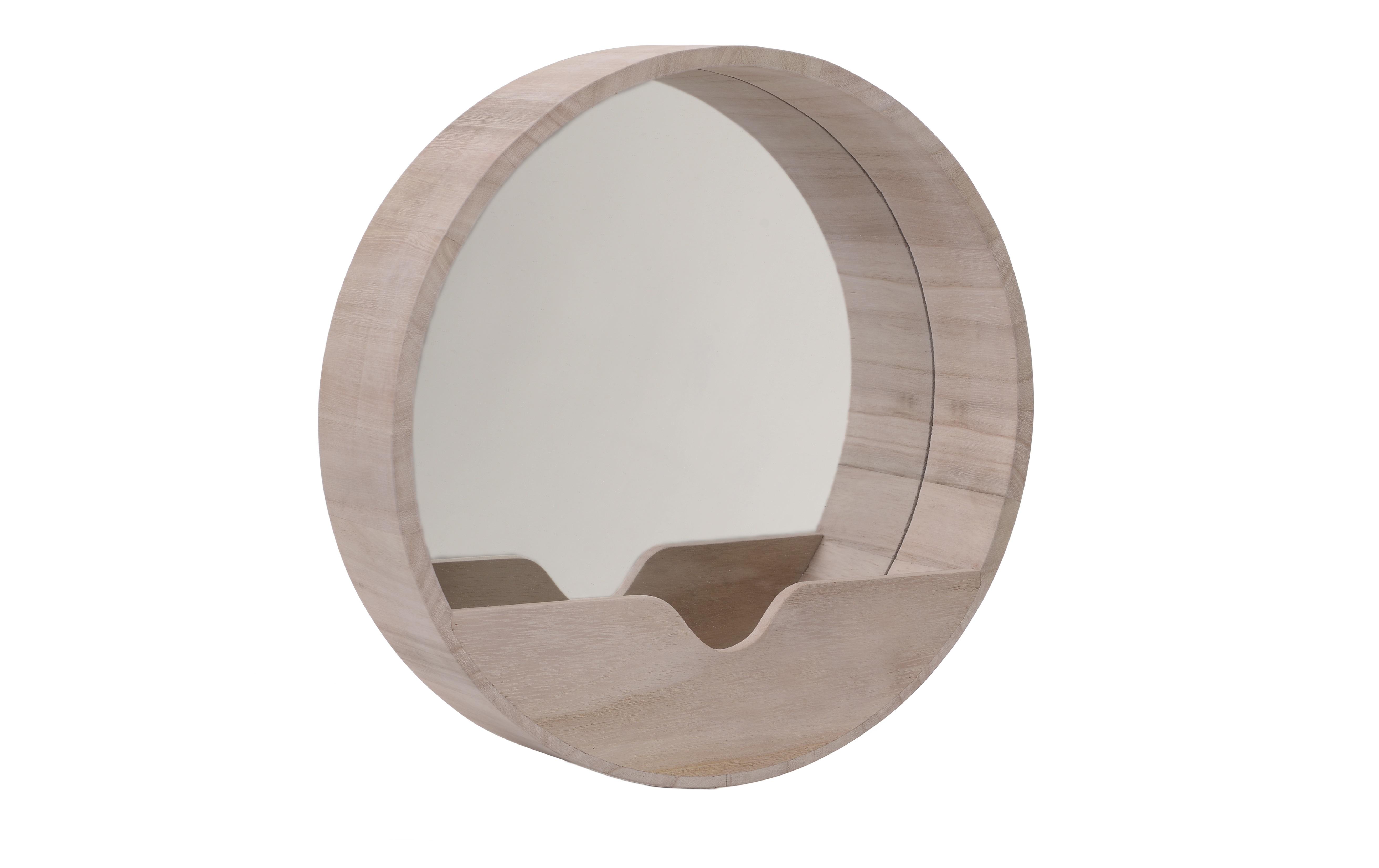 Зеркало настенное TrelleborgНастенные зеркала<br>Материал: дерево, стекло<br><br>Material: Дерево<br>Ширина см: 35.0<br>Высота см: 35.0<br>Глубина см: 8.0