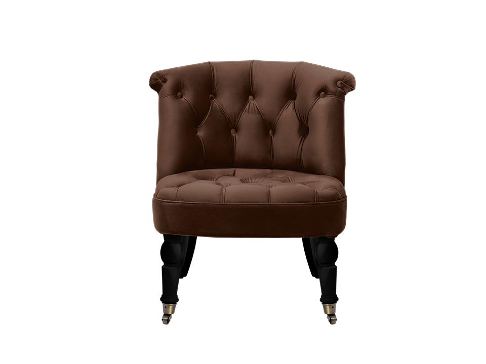 Кресло VisconteПолукресла<br>&amp;lt;div&amp;gt;Низкое мягкое кресло на точёных ножках с колёсиками. Спинка и сиденье декорированы стёжкой капитоне на пуговицах.&amp;lt;/div&amp;gt;&amp;lt;div&amp;gt;&amp;lt;br&amp;gt;&amp;lt;/div&amp;gt;&amp;lt;div&amp;gt;Материалы:&amp;lt;/div&amp;gt;&amp;lt;div&amp;gt;Каркас: деревянный брус, фанера&amp;lt;/div&amp;gt;&amp;lt;div&amp;gt;Сиденье и спинка: эластичные ремни, пенополиуретан, синтепон&amp;lt;/div&amp;gt;&amp;lt;div&amp;gt;Обивка: ткань&amp;lt;/div&amp;gt;&amp;lt;div&amp;gt;Ножки: массив дерева&amp;lt;/div&amp;gt;&amp;lt;div&amp;gt;&amp;lt;br&amp;gt;&amp;lt;/div&amp;gt;&amp;lt;div&amp;gt;Ширина сиденья:60 см&amp;lt;/div&amp;gt;&amp;lt;div&amp;gt;Глубина сиденья:46 см&amp;lt;/div&amp;gt;&amp;lt;div&amp;gt;Высота сиденья:42 см&amp;lt;/div&amp;gt;<br><br>Material: Текстиль<br>Width см: 70<br>Depth см: 65<br>Height см: 76