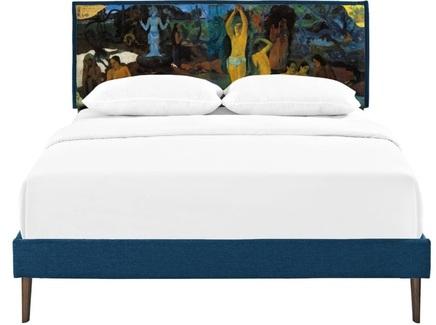 Кровать orleans (icon designe) синий 170x110x210 см.
