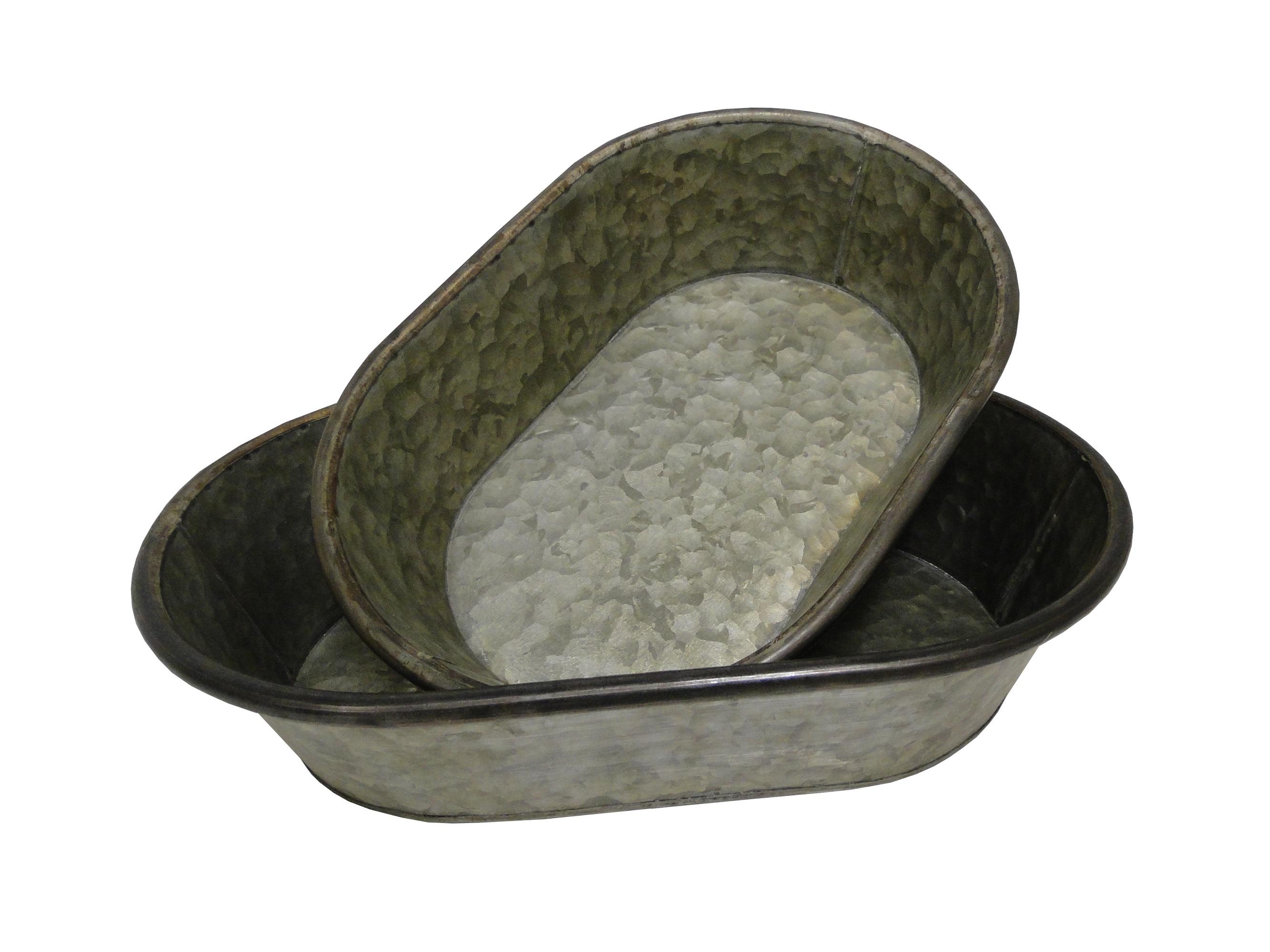 Набор из тазиков (2 шт)Посуда для дачи<br>Размеры:&amp;lt;div&amp;gt;- большой: высота 8, ширина 37, глубина 24.5;&amp;lt;/div&amp;gt;&amp;lt;div&amp;gt;- маленький: высота 8, ширина 31,5, длина 21,5.&amp;amp;nbsp;&amp;lt;/div&amp;gt;&amp;lt;div&amp;gt;&amp;lt;br&amp;gt;&amp;lt;/div&amp;gt;&amp;lt;div&amp;gt;Материал: Цинк&amp;lt;/div&amp;gt;<br><br>Material: Металл<br>Length см: None<br>Width см: 37<br>Depth см: 24.5<br>Height см: 8