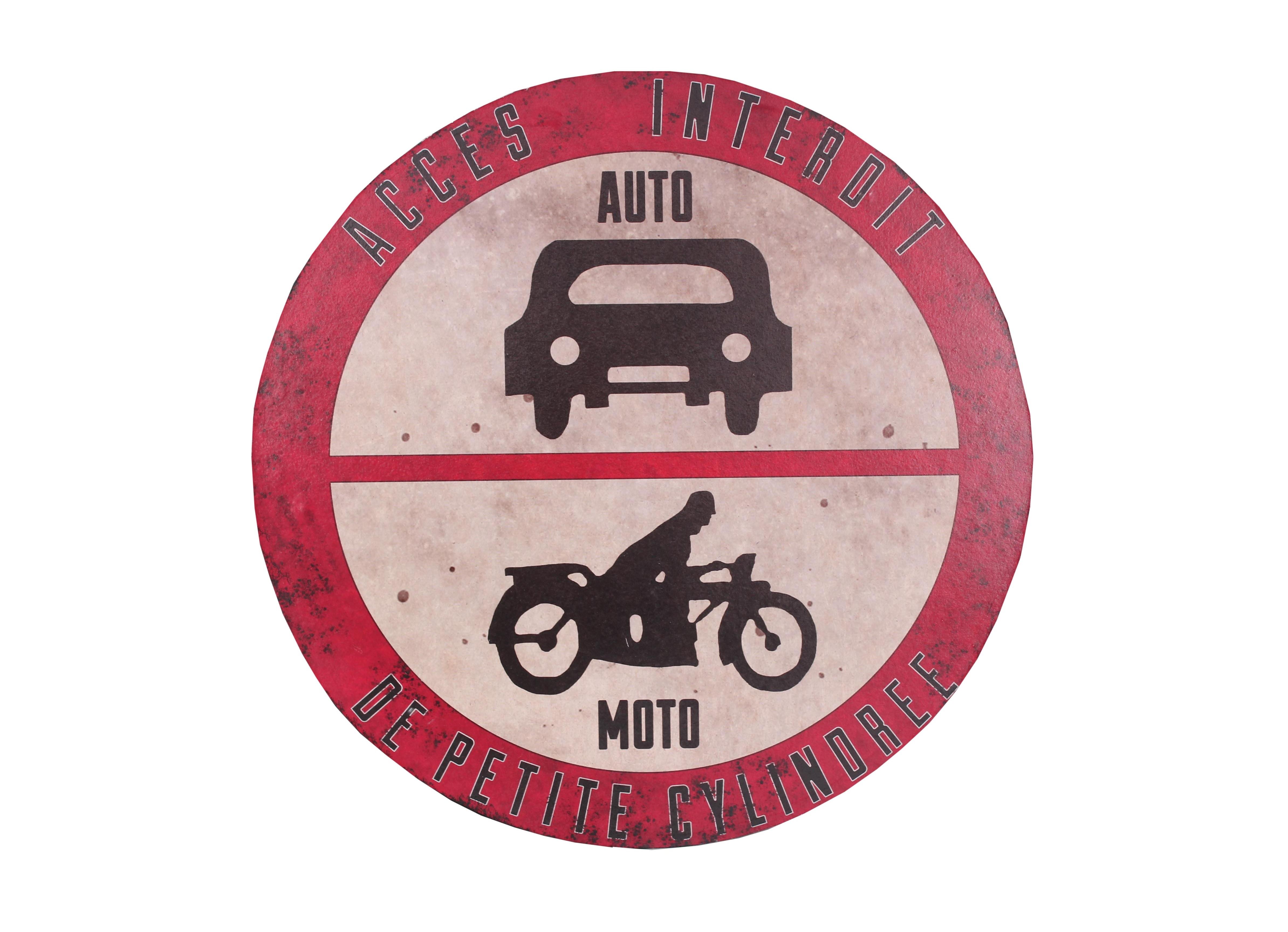 Декоративная табличка Auto-MotoДругое<br>Материал: Железо, бумага<br><br>Material: Железо<br>Length см: None<br>Width см: None<br>Depth см: 0.33<br>Height см: None<br>Diameter см: 44