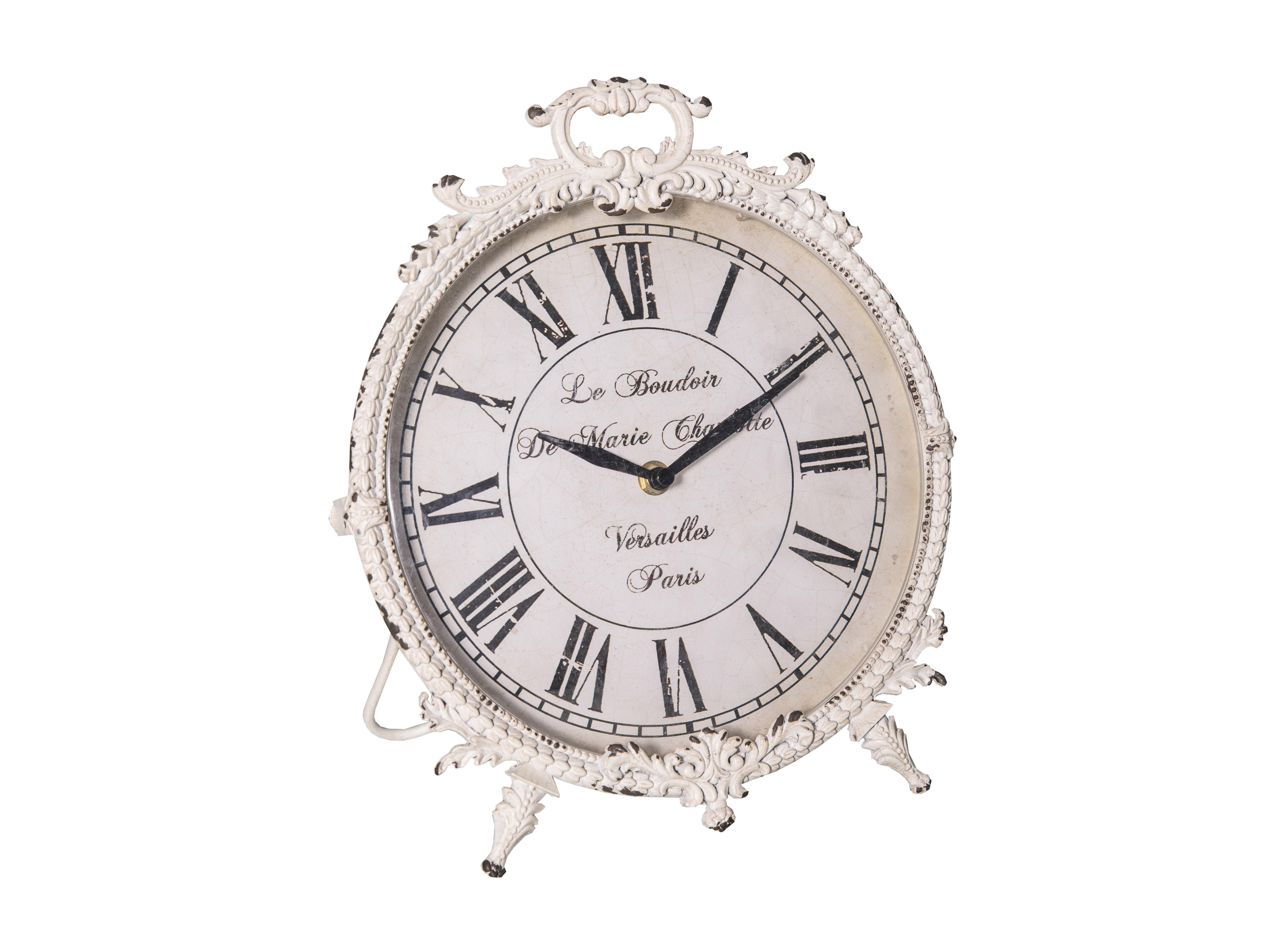 """Настольные часы """"Le boudoir Blanc"""""""