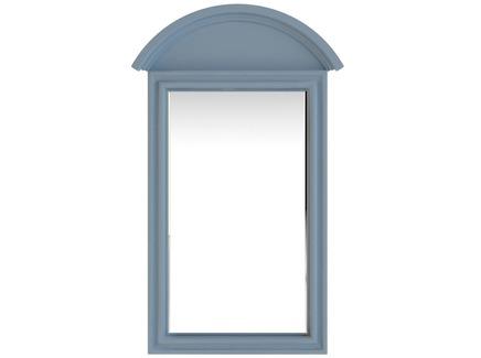 Зеркало leontina (etg-home) голубой 67.0x104.0x4.0 см.