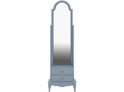 Зеркало напольное leontina (etg-home) голубой 53.0x172.0x36.0 см.
