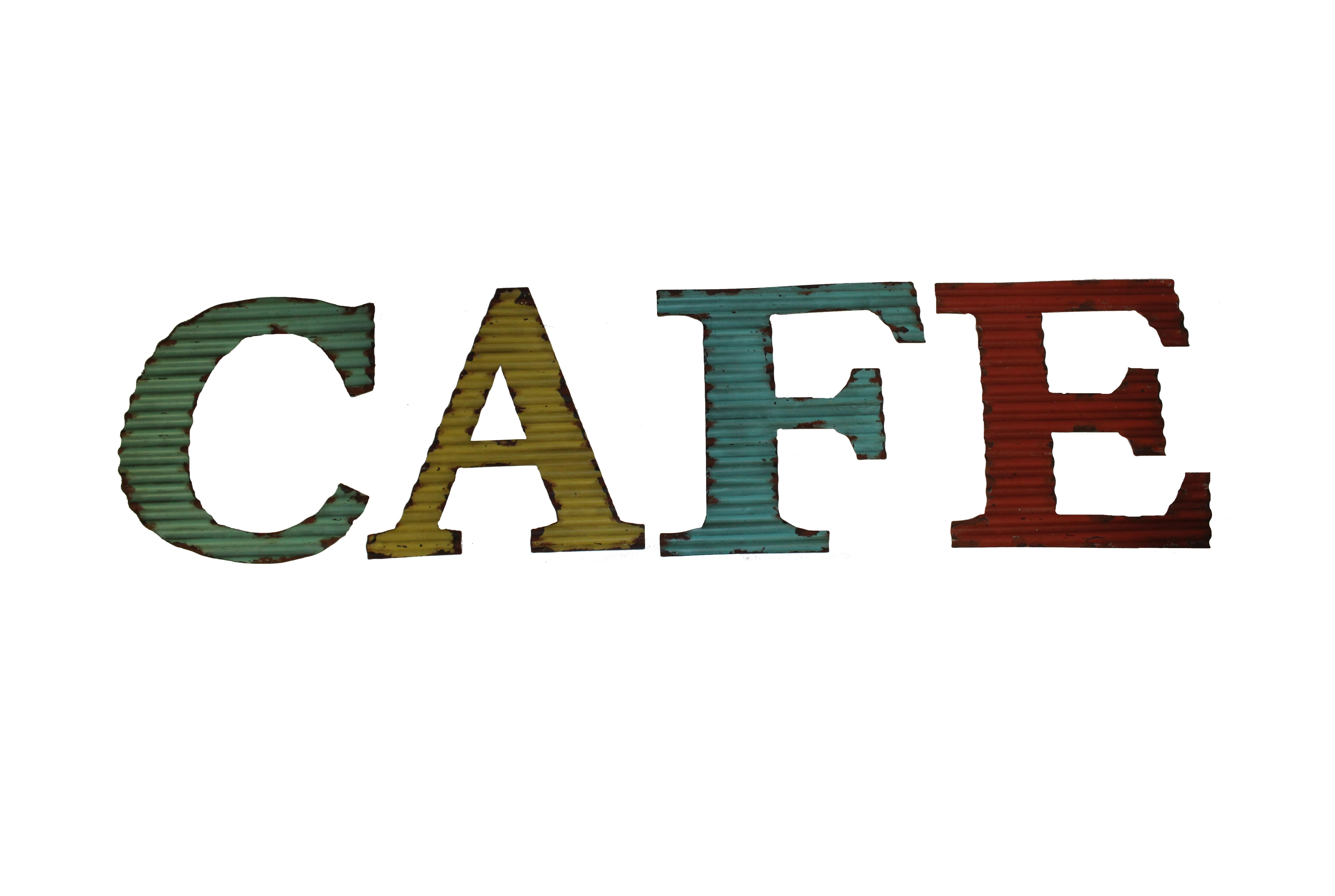 Табличка со словом CafeДругое<br>Материал: Железо<br><br>Material: Железо<br>Length см: None<br>Width см: 33<br>Depth см: 8<br>Height см: 33