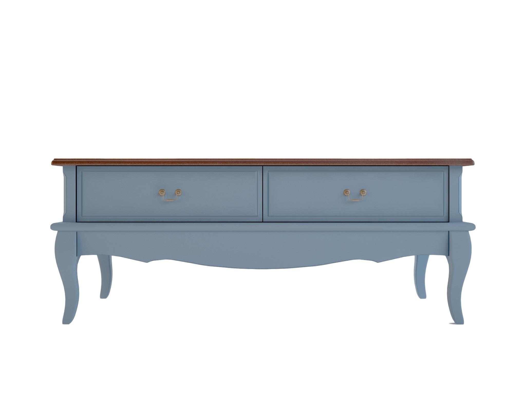 Стол журнальный Leontina голубойЖурнальные столики<br>&amp;lt;div&amp;gt;Количество ящиков: 2&amp;lt;/div&amp;gt;<br><br>Material: Береза<br>Ширина см: 120<br>Высота см: 47<br>Глубина см: 60