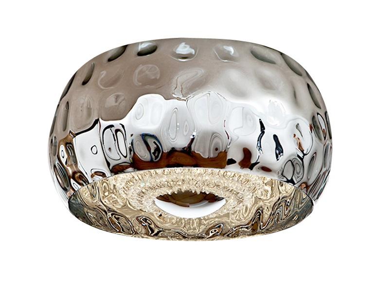 Потолочный светильник FluvioПотолочные светильники<br>&amp;lt;div&amp;gt;Потолочный светильник из коллекции Fluvio с креплением из металла с покрытием &amp;quot;хром&amp;quot;.&amp;amp;nbsp;&amp;lt;/div&amp;gt;&amp;lt;div&amp;gt;Плафон выполнен из зеркального стекла цвета хром с фактурной поверхностью.&amp;amp;nbsp;&amp;lt;/div&amp;gt;&amp;lt;div&amp;gt;Внутренняя сфера образована нитями бус из гранёного стекла.&amp;lt;/div&amp;gt;&amp;lt;div&amp;gt;&amp;lt;br&amp;gt;&amp;lt;/div&amp;gt;&amp;lt;div&amp;gt;Вид цоколя: G6&amp;lt;/div&amp;gt;&amp;lt;div&amp;gt;Мощность: 4W&amp;lt;/div&amp;gt;&amp;lt;div&amp;gt;Количество ламп: 5 (нет в комплекте)&amp;lt;/div&amp;gt;&amp;lt;div&amp;gt;&amp;lt;br&amp;gt;&amp;lt;/div&amp;gt;<br><br>Material: Металл<br>Height см: 23<br>Diameter см: 40