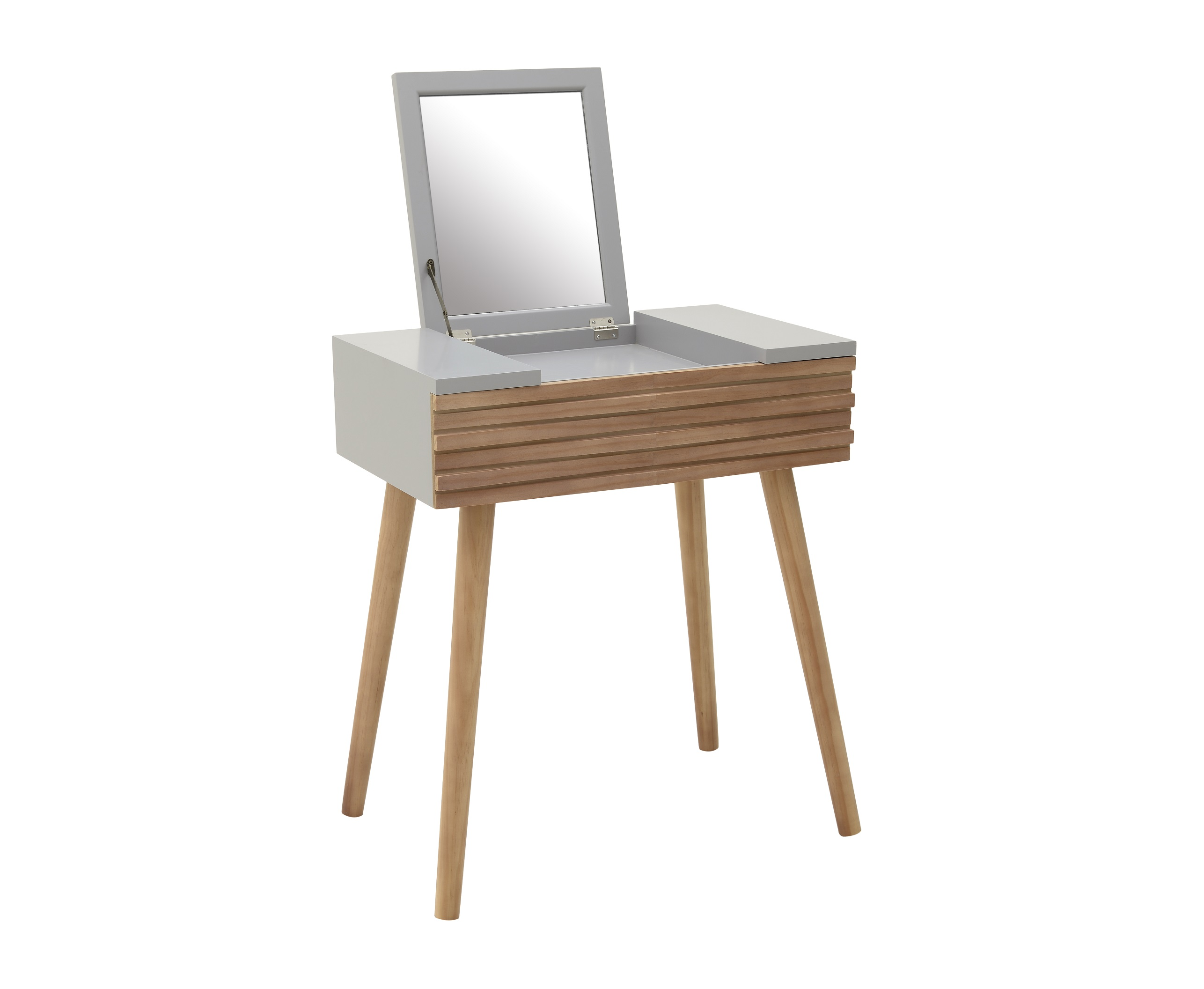 Будуарный стол LudvikaТуалетные столики<br><br><br>Material: Дерево<br>Length см: None<br>Width см: 64<br>Depth см: 40<br>Height см: 115
