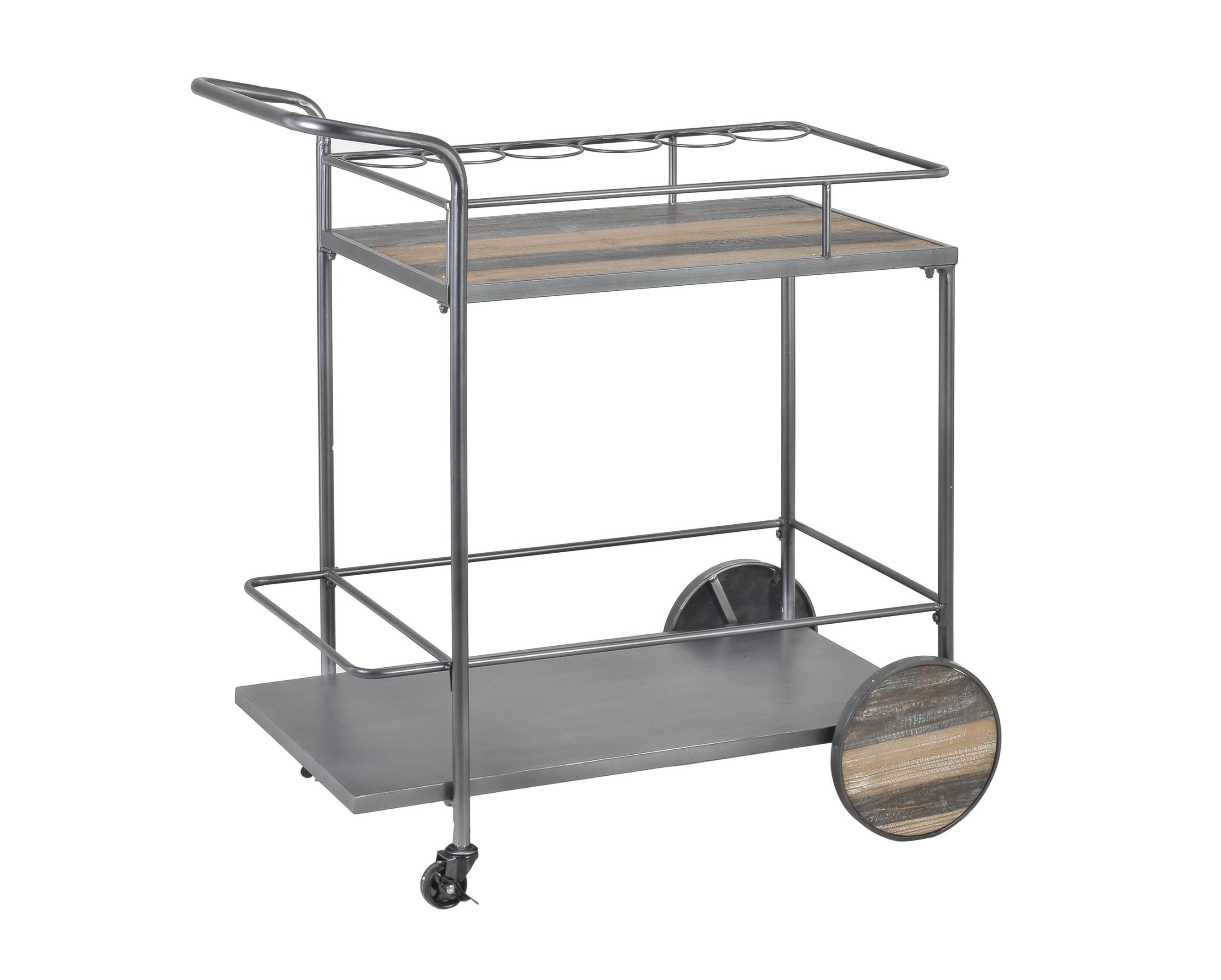 Стол сервировочный K?pingСервировочные столики<br><br><br>Material: Дерево<br>Ширина см: 84<br>Высота см: 86<br>Глубина см: 47