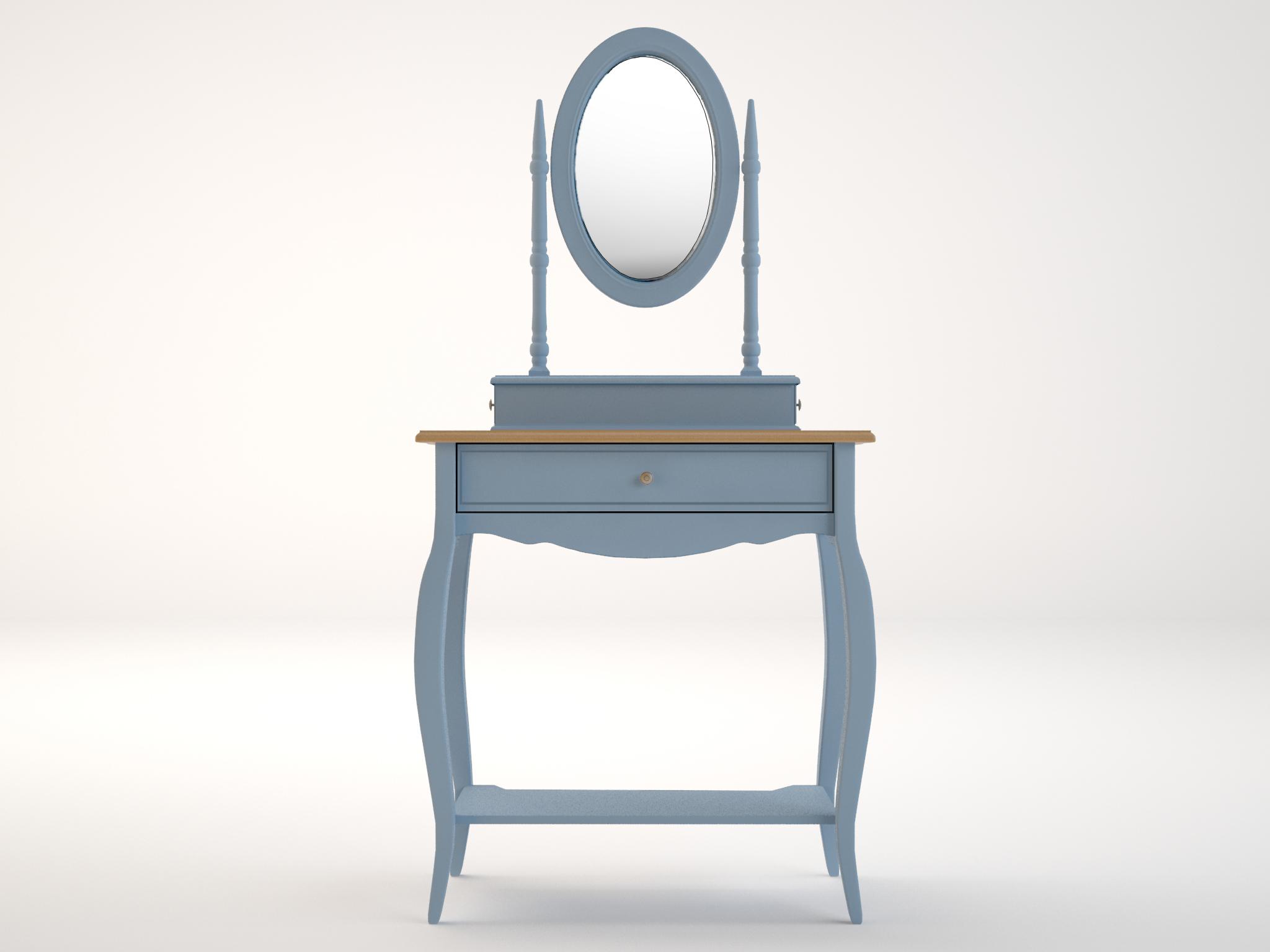 Туалетный столик LeontinaТуалетные столики<br><br><br>Material: Береза<br>Ширина см: 70<br>Высота см: 142<br>Глубина см: 40
