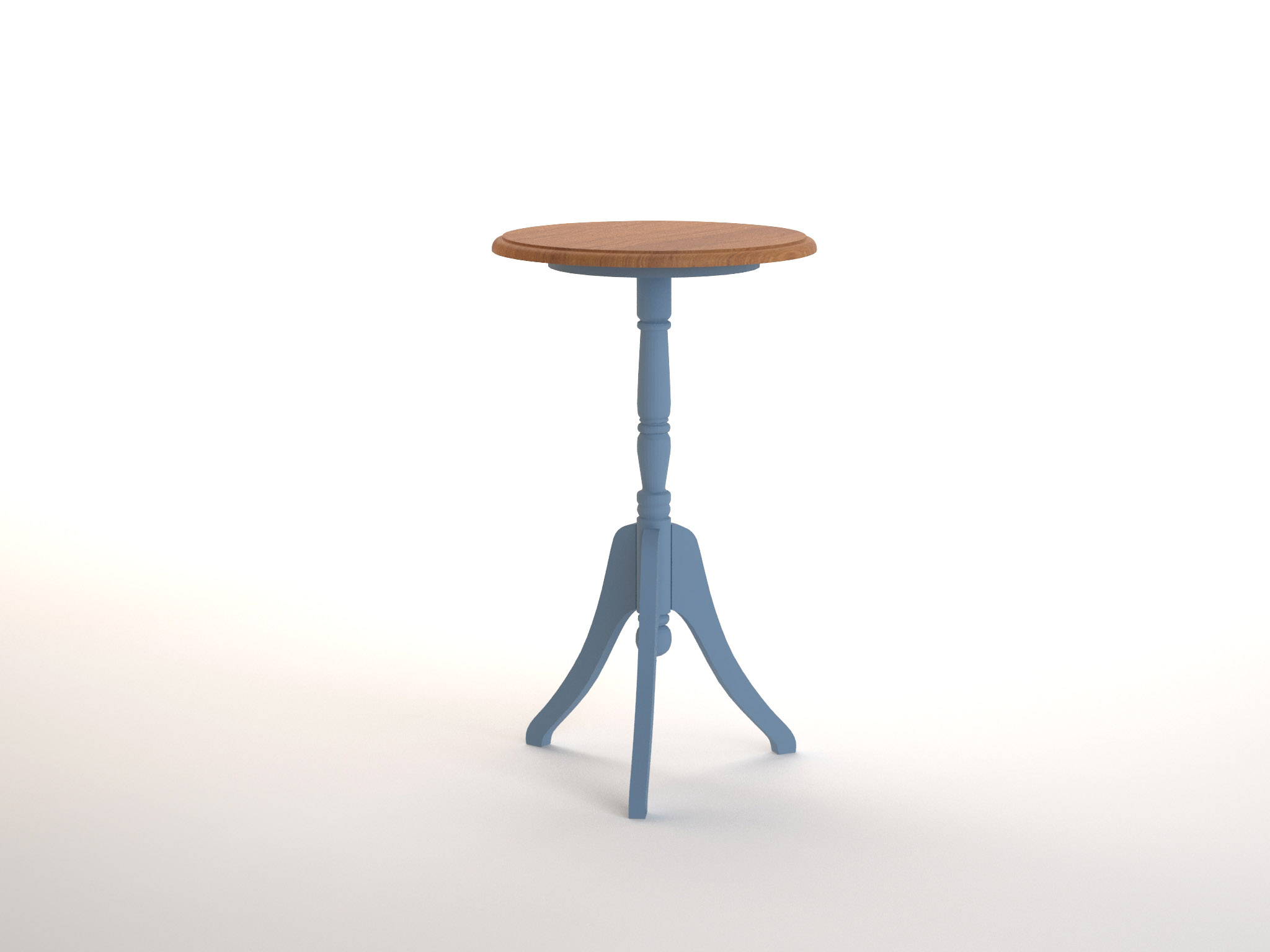 Кофейный стол leontina (etg-home) голубой 40.0x68.0x40.0 см. фото