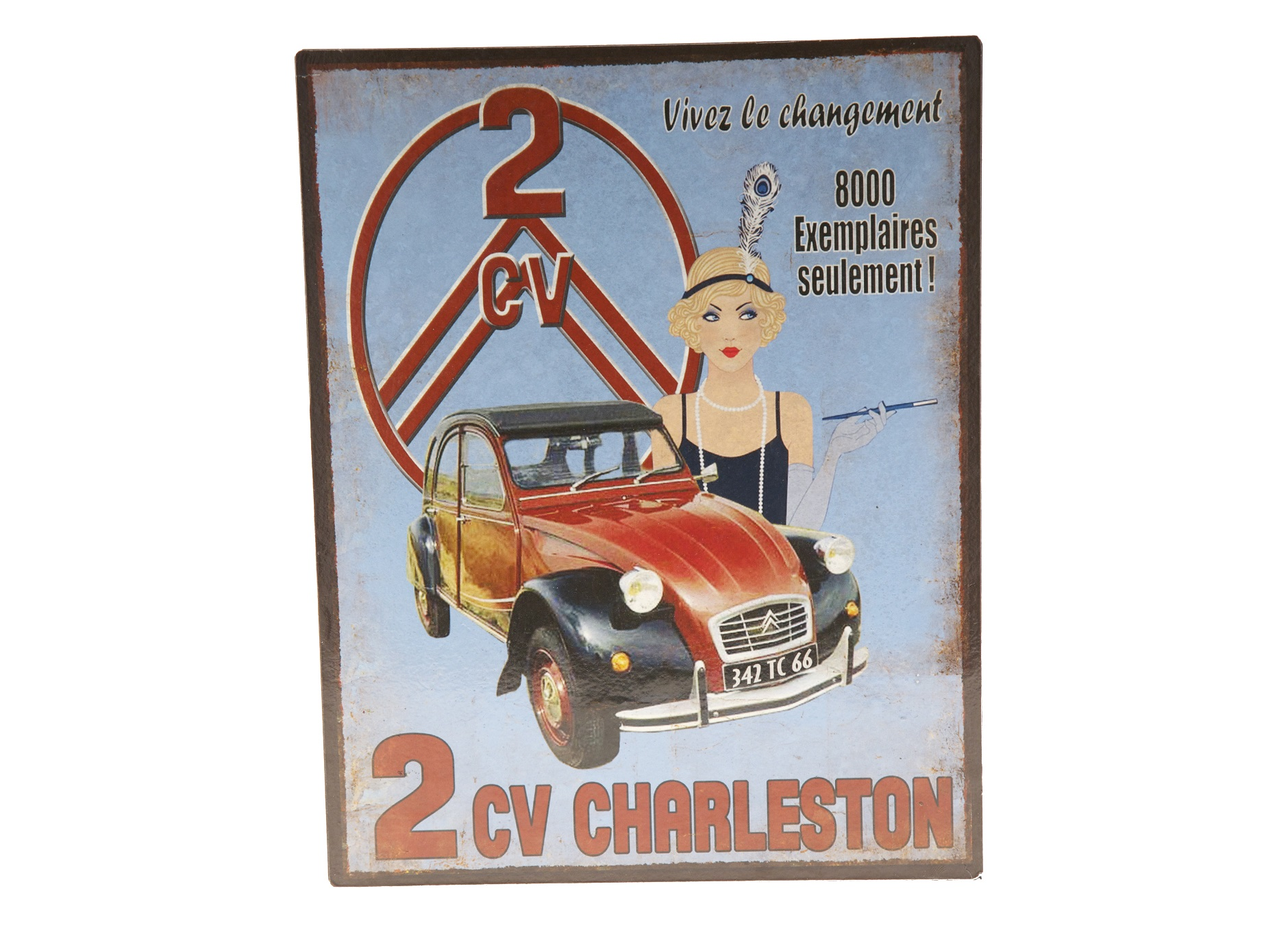 Табличка Cv CharlestoneДругое<br><br><br>Material: Железо<br>Length см: None<br>Width см: 24.2<br>Depth см: 3<br>Height см: 30.8