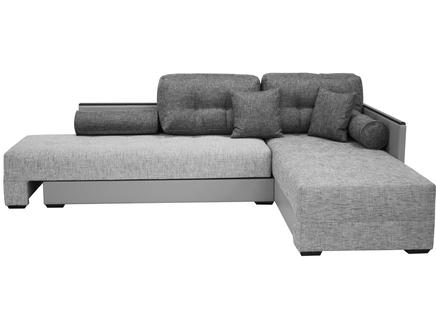 Диван берн нео (modern classic) серый 284.0x91.0x201.0 см.