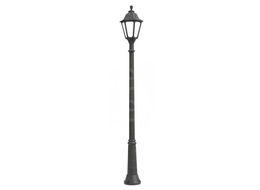 Светильник уличный RICUУличные наземные светильники<br>Большие уличные шестигранные светильники FUMAGALLI  серии NOEMI  - изготовлены в Италии. Корпус изготовлен из современного композитного полимера RESIN. Прочного, окрашенного в массе, не ржавеющего и не выгорающего на солнце. Все светильники пыле-влаго защищены по стандарту IP55. В комплекте идут крепежи и закладные элементы. Рассеиватель выполнен из антивандального, не мутнеющего  и не горючего PMMA. Срок службы светильника - не менее 10 лет. Температура использования от +60 до -90. Могут быть в настенном, подвесном и наземном исполнении со столбами разной высоты, разным количеством и конфигурации голов. Столбы выше 150 см имеют в основе мощную стальную трубу с двойной оцинковкой и полимерным наполнителем. При заказе требуется выбрать цвет корпуса, цвет плафона и тип патрона.&amp;lt;div&amp;gt;&amp;lt;br&amp;gt;&amp;lt;/div&amp;gt;&amp;lt;div&amp;gt;&amp;lt;div&amp;gt;Вид цоколя: E27&amp;lt;/div&amp;gt;&amp;lt;div&amp;gt;Мощность: 75W&amp;lt;/div&amp;gt;&amp;lt;div&amp;gt;Количество ламп: 1 (нет в комплекте)&amp;lt;/div&amp;gt;&amp;lt;div&amp;gt;Материал: полимер&amp;lt;/div&amp;gt;&amp;lt;/div&amp;gt;&amp;lt;div&amp;gt;&amp;lt;br&amp;gt;&amp;lt;/div&amp;gt;<br><br>Material: Пластик<br>Высота см: 250