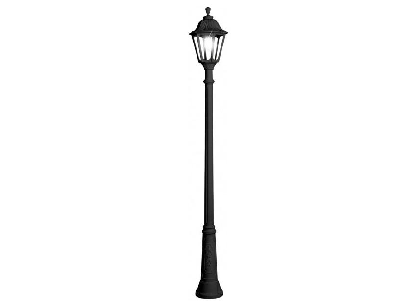 Светильник уличный RICUУличные наземные светильники<br>Большие уличные шестигранные светильники FUMAGALLI  серии NOEMI  - изготовлены в Италии. Корпус изготовлен из современного композитного полимера RESIN. Прочного, окрашенного в массе, не ржавеющего и не выгорающего на солнце. Все светильники пыле-влаго защищены по стандарту IP55. В комплекте идут крепежи и закладные элементы. Рассеиватель выполнен из антивандального, не мутнеющего  и не горючего PMMA. Срок службы светильника - не менее 10 лет. Температура использования от +60 до -90. Могут быть в настенном, подвесном и наземном исполнении со столбами разной высоты, разным количеством и конфигурации голов. Столбы выше 150 см имеют в основе мощную стальную трубу с двойной оцинковкой и полимерным наполнителем. При заказе требуется выбрать цвет корпуса, цвет плафона и тип патрона.&amp;lt;div&amp;gt;&amp;lt;br&amp;gt;&amp;lt;/div&amp;gt;&amp;lt;div&amp;gt;&amp;lt;div&amp;gt;Вид цоколя: E27&amp;lt;/div&amp;gt;&amp;lt;div&amp;gt;Мощность: 75W&amp;lt;/div&amp;gt;&amp;lt;div&amp;gt;Количество ламп: 1 (нет в комплекте)&amp;lt;/div&amp;gt;&amp;lt;div&amp;gt;Материал: полимер&amp;lt;/div&amp;gt;&amp;lt;/div&amp;gt;<br><br>Material: Пластик<br>Высота см: 250