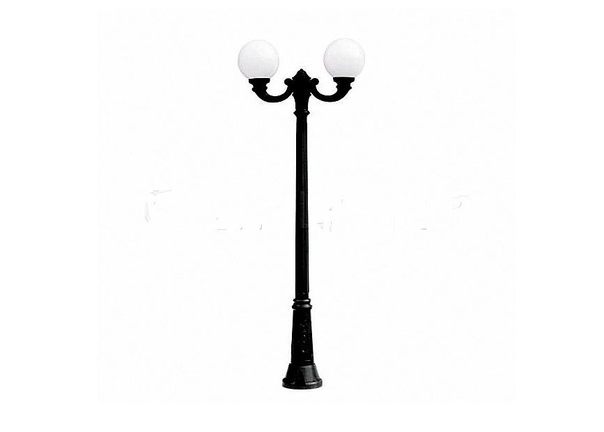 Светильник уличный GIGI OFIRУличные наземные светильники<br>Малые шаровые уличные светильники FUMAGALLI  серии GLOBE 250  - изготовлены в Италии. Корпус изготовлен из современного композитного полимера RESIN. Прочного, окрашенного в массе, не ржавеющего и не выгорающего на солнце. Все светильники пыле-влаго защищены по стандарту IP55. В комплекте идут крепежи и закладные элементы. Рассеиватель выполнен из антивандального, не мутнеющего  и не горючего PMMA. Срок службы светильника - не менее 10 лет. Температура использования от +60 до -90. Могут быть в настенном, подвесном и наземном исполнении со столбами разной высоты, разным количеством и конфигурации голов. Столбы выше 150 см имеют в основе мощную стальную трубу с двойной оцинковкой и полимерным наполнителем. При заказе требуется выбрать цвет корпуса, цвет плафона и тип патрона.&amp;lt;div&amp;gt;&amp;lt;br&amp;gt;&amp;lt;/div&amp;gt;&amp;lt;div&amp;gt;&amp;lt;div&amp;gt;Вид цоколя: E27&amp;lt;/div&amp;gt;&amp;lt;div&amp;gt;Мощность: 60W&amp;lt;/div&amp;gt;&amp;lt;div&amp;gt;Количество ламп: 2 (нет в комплекте)&amp;lt;/div&amp;gt;&amp;lt;div&amp;gt;Материал: полимер&amp;lt;/div&amp;gt;&amp;lt;/div&amp;gt;<br><br>Material: Пластик<br>Width см: 97<br>Depth см: 25<br>Height см: 200