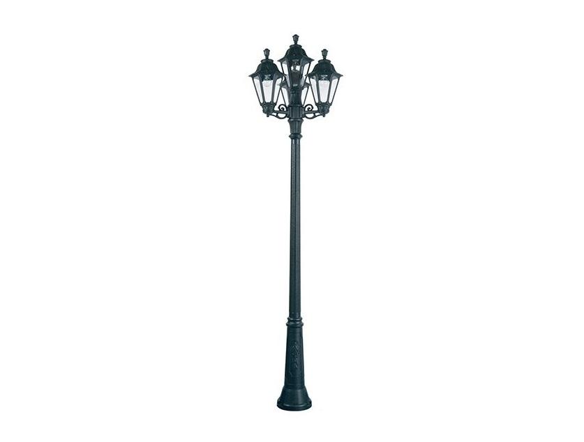 Светильник уличный RICU BISSOУличные наземные светильники<br>Средние уличные шестигранные светильники FUMAGALLI  серии RUT - изготовлены в Италии. Корпус изготовлен из современного композитного полимера RESIN. Прочного, окрашенного в массе, не ржавеющего и не выгорающего на солнце. Все светильники пыле-влаго защищены по стандарту IP55. В комплекте идут крепежи и закладные элементы. Рассеиватель выполнен из антивандального, не мутнеющего  и не горючего PMMA. Срок службы светильника - не менее 10 лет. Температура использования от +60 до -90. Могут быть в настенном, подвесном и наземном исполнении со столбами разной высоты, разным количеством и конфигурации голов. Столбы выше 150 см имеют в основе мощную стальную трубу с двойной оцинковкой и полимерным наполнителем. При заказе требуется выбрать цвет корпуса, цвет плафона и тип патрона.&amp;lt;div&amp;gt;&amp;lt;div&amp;gt;&amp;lt;br&amp;gt;&amp;lt;/div&amp;gt;&amp;lt;div&amp;gt;Вид цоколя: E27&amp;lt;/div&amp;gt;&amp;lt;div&amp;gt;Мощность: 60W&amp;lt;/div&amp;gt;&amp;lt;div&amp;gt;Количество ламп: 4 (нет в комплекте)&amp;lt;/div&amp;gt;&amp;lt;div&amp;gt;Материал: полимер&amp;lt;/div&amp;gt;&amp;lt;/div&amp;gt;<br><br>Material: Пластик<br>Width см: None<br>Height см: 260<br>Diameter см: 64