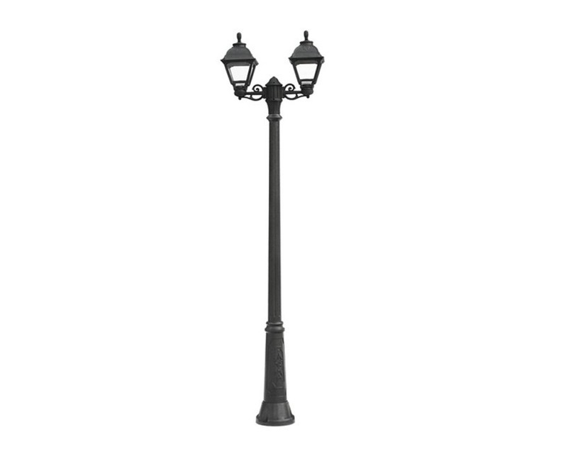 Светильник уличный GIGI BISSOУличные наземные светильники<br>Средние уличные квадратные светильники FUMAGALLI  серии CEFA - изготовлены в Италии. Корпус изготовлен из современного композитного полимера RESIN. Прочного, окрашенного в массе, не ржавеющего и не выгорающего на солнце. Все светильники пыле-влаго защищены по стандарту IP55. В комплекте идут крепежи и закладные элементы. Рассеиватель выполнен из антивандального, не мутнеющего  и не горючего PMMA. Срок службы светильника - не менее 10 лет. Температура использования от +60 до -90. Могут быть в настенном, подвесном и наземном исполнении со столбами разной высоты, разным количеством и конфигурации голов. Столбы выше 150 см имеют в основе мощную стальную трубу с двойной оцинковкой и полимерным наполнителем. При заказе требуется выбрать цвет корпуса, цвет плафона и тип патрона.&amp;lt;div&amp;gt;&amp;lt;br&amp;gt;&amp;lt;/div&amp;gt;&amp;lt;div&amp;gt;&amp;lt;div&amp;gt;Вид цоколя: E27&amp;lt;/div&amp;gt;&amp;lt;div&amp;gt;Мощность: 60W&amp;lt;/div&amp;gt;&amp;lt;div&amp;gt;Количество ламп: 2 (нет в комплекте)&amp;lt;/div&amp;gt;&amp;lt;div&amp;gt;Материал: полимер&amp;lt;/div&amp;gt;&amp;lt;/div&amp;gt;<br><br>Material: Пластик<br>Width см: None<br>Height см: 217<br>Diameter см: 82