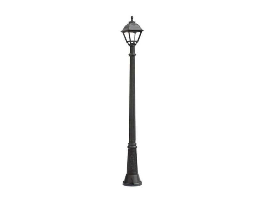 Светильник уличный GIGIУличные наземные светильники<br>Средние уличные квадратные светильники FUMAGALLI  серии CEFA - изготовлены в Италии. Корпус изготовлен из современного композитного полимера RESIN. Прочного, окрашенного в массе, не ржавеющего и не выгорающего на солнце. Все светильники пыле-влаго защищены по стандарту IP55. В комплекте идут крепежи и закладные элементы. Рассеиватель выполнен из антивандального, не мутнеющего  и не горючего PMMA. Срок службы светильника - не менее 10 лет. Температура использования от +60 до -90. Могут быть в настенном, подвесном и наземном исполнении со столбами разной высоты, разным количеством и конфигурации голов. Столбы выше 150 см имеют в основе мощную стальную трубу с двойной оцинковкой и полимерным наполнителем. При заказе требуется выбрать цвет корпуса, цвет плафона и тип патрона.&amp;lt;div&amp;gt;&amp;lt;br&amp;gt;&amp;lt;/div&amp;gt;&amp;lt;div&amp;gt;&amp;lt;div&amp;gt;Вид цоколя: E27&amp;lt;/div&amp;gt;&amp;lt;div&amp;gt;Мощность: 60W&amp;lt;/div&amp;gt;&amp;lt;div&amp;gt;Количество ламп: 1 (нет в комплекте)&amp;lt;/div&amp;gt;&amp;lt;div&amp;gt;Материал: полимер&amp;lt;/div&amp;gt;&amp;lt;/div&amp;gt;<br><br>Material: Пластик<br>Height см: 211<br>Diameter см: 23