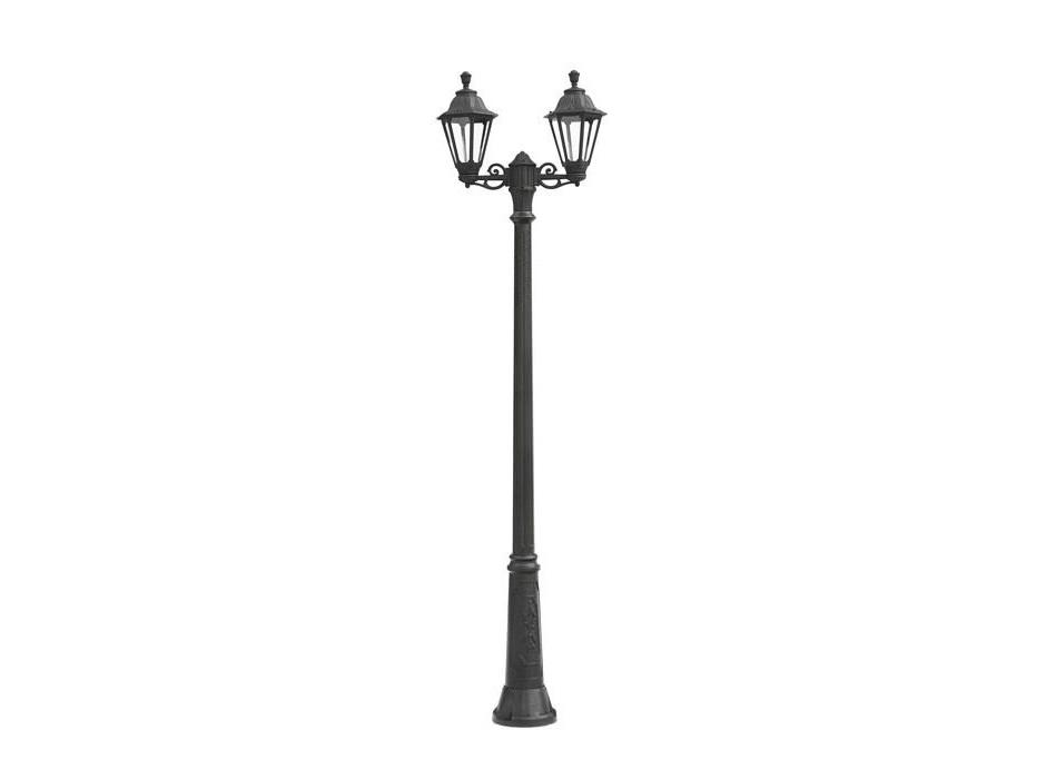 Светильник уличный RICU BISSOУличные наземные светильники<br>Средние уличные шестигранные светильники FUMAGALLI  серии RUT - изготовлены в Италии. Корпус изготовлен из современного композитного полимера RESIN. Прочного, окрашенного в массе, не ржавеющего и не выгорающего на солнце. Все светильники пыле-влаго защищены по стандарту IP55. В комплекте идут крепежи и закладные элементы. Рассеиватель выполнен из антивандального, не мутнеющего  и не горючего PMMA. Срок службы светильника - не менее 10 лет. Температура использования от +60 до -90. Могут быть в настенном, подвесном и наземном исполнении со столбами разной высоты, разным количеством и конфигурации голов. Столбы выше 150 см имеют в основе мощную стальную трубу с двойной оцинковкой и полимерным наполнителем. При заказе требуется выбрать цвет корпуса, цвет плафона и тип патрона.&amp;lt;div&amp;gt;&amp;lt;br&amp;gt;&amp;lt;/div&amp;gt;&amp;lt;div&amp;gt;&amp;lt;div&amp;gt;Вид цоколя: E27&amp;lt;/div&amp;gt;&amp;lt;div&amp;gt;Мощность: 60W&amp;lt;/div&amp;gt;&amp;lt;div&amp;gt;Количество ламп: 2 (нет в комплекте)&amp;lt;/div&amp;gt;&amp;lt;div&amp;gt;Материал: полимер&amp;lt;/div&amp;gt;&amp;lt;/div&amp;gt;<br><br>Material: Пластик<br>Width см: None<br>Height см: 250<br>Diameter см: 69