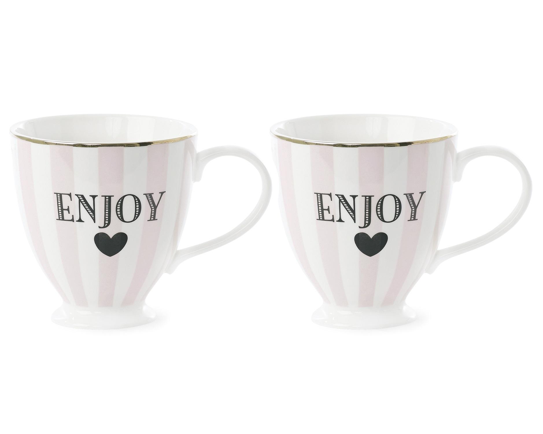 Набор кофейных чашек (2шт)Чайные пары и чашки<br>Чаепитие – настоящее магическое действо, во время которого можно получить море удовольствий сразу. С посудой Miss Etoile ко всем приятностям добавится и эстетическое наслаждение от красивой сервировки. Эта милая чашка выглядят женственно и изящно, в сочетании с ароматным чаем и круассаном она создаст настроение булочной Парижа.&amp;amp;nbsp;&amp;lt;div&amp;gt;&amp;lt;br&amp;gt;&amp;lt;/div&amp;gt;&amp;lt;div&amp;gt;Объем 300 мл.&amp;amp;nbsp;&amp;lt;/div&amp;gt;&amp;lt;div&amp;gt;В наборе 2 шт.  ( H:10 см)&amp;lt;/div&amp;gt;<br><br>Material: Керамика<br>Height см: 10