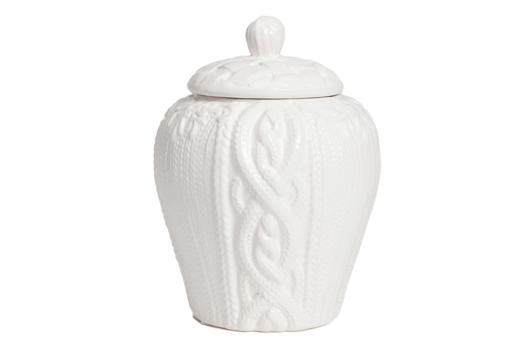 Декоративная ваза LindleyЕмкости для хранения<br><br><br>Material: Керамика<br>Length см: None<br>Width см: None<br>Height см: 20,5<br>Diameter см: 16