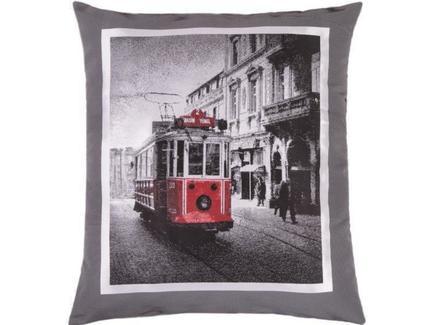 """Подушка на пол """"Улицы Лондона"""""""