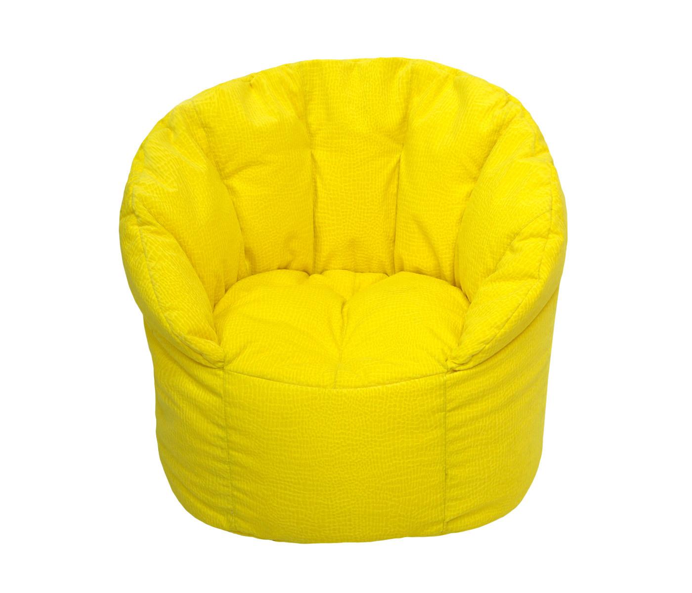 Кресло-пуф Солнечное настроениеФорменные пуфы<br>Очень комфортное и  легкое  кресло-пуф станет неотьемлемой частью вашего интерьера как дома так и на улице. Сиденье и спинка кресла великолепно поддерживают и принимают форму тела, обеспечивая комфортный отдых. Читайте книгу, общайтесь с друзьями или просто наслаждайтесь лучами летнего солнца удобно разместившись в этом кресле!  Удобное, легкое и очень жизнерадостное кресло будет просто незаменимым аксессуаром любой комнаты.<br><br>Material: Текстиль<br>Length см: None<br>Width см: 70<br>Depth см: 80<br>Height см: 70