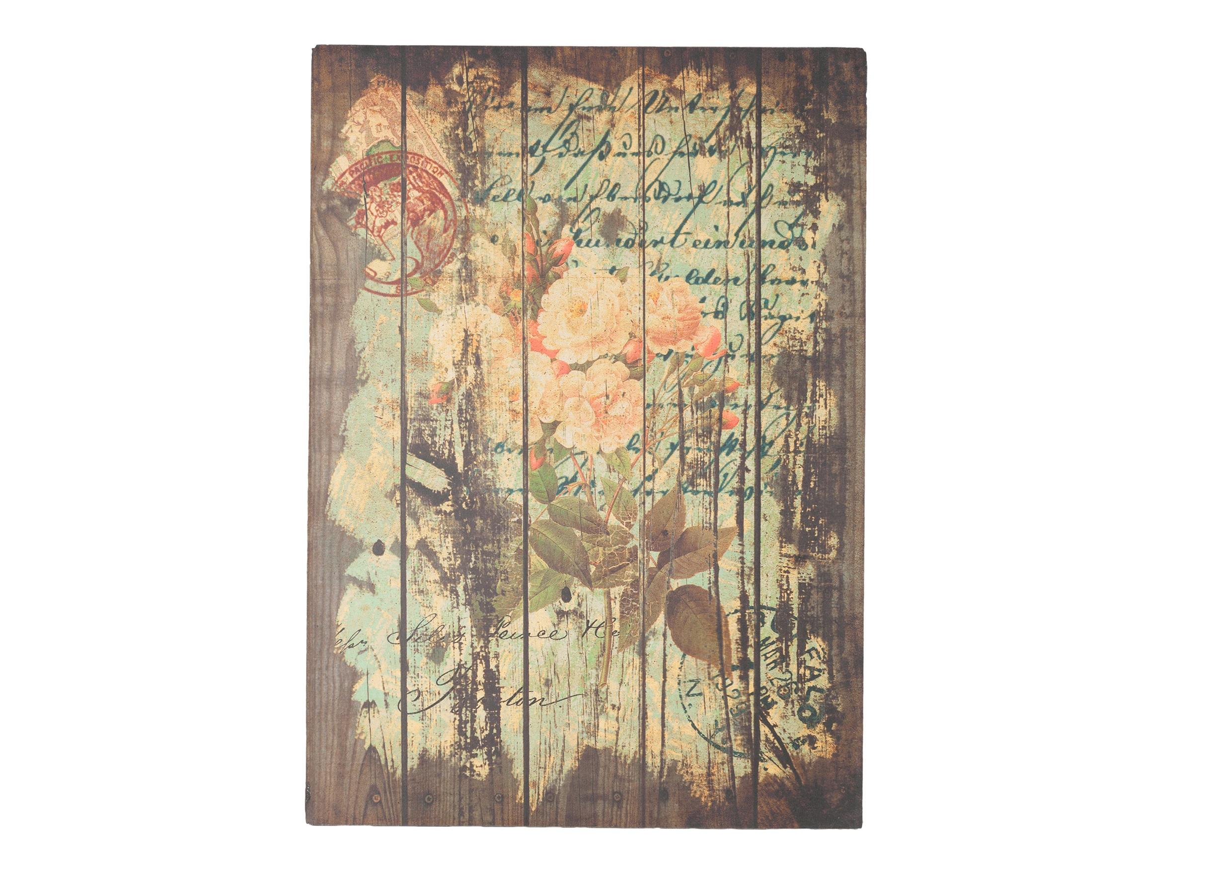Декоративная панель Flores RoseДругое<br>Декоративный постер: настенный деревянный (ель), цветная печать<br><br>Material: Дерево<br>Length см: None<br>Width см: 50<br>Depth см: Flores Rose<br>Height см: 70
