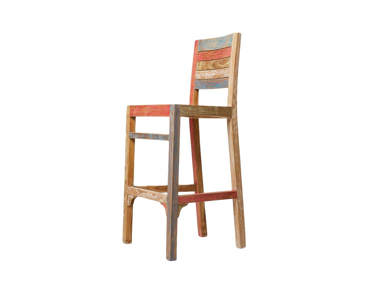 Стул барный ClaudiaБарные стулья<br><br><br>Material: Тик<br>Length см: None<br>Width см: 42<br>Depth см: 48<br>Height см: 110<br>Diameter см: None