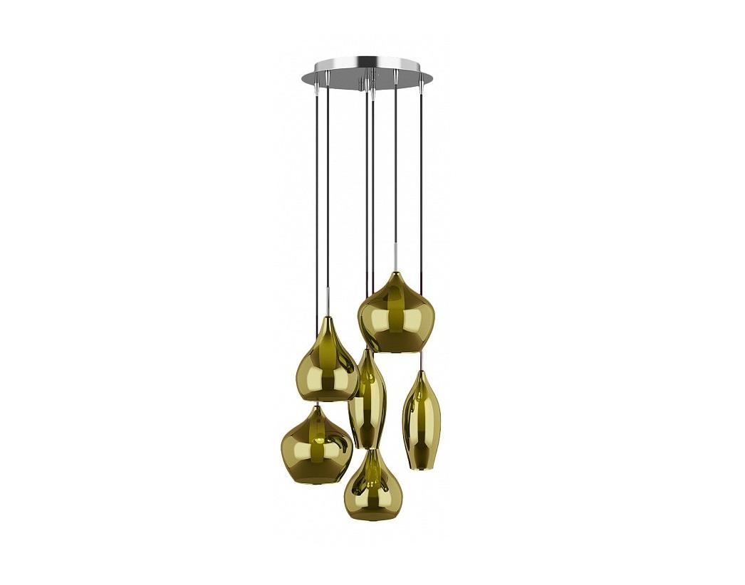 Подвесной светильник PentolaПодвесные светильники<br>&amp;lt;div&amp;gt;Вид цоколя: G9&amp;lt;/div&amp;gt;&amp;lt;div&amp;gt;Мощность: &amp;amp;nbsp;25W&amp;lt;/div&amp;gt;&amp;lt;div&amp;gt;Количество ламп: 6 (нет в комплекте)&amp;lt;/div&amp;gt;<br><br>Material: Стекло<br>Высота см: 45