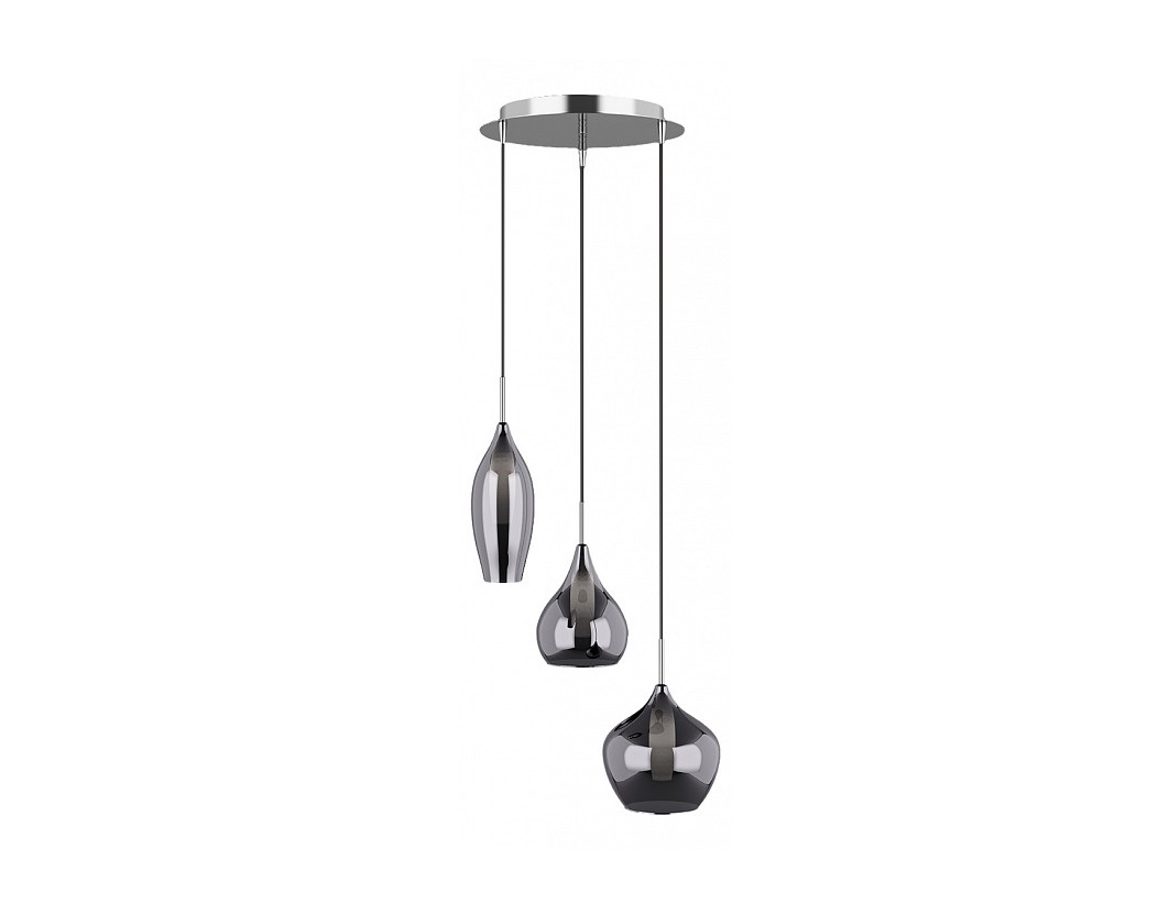 Подвесной светильник PentolaПодвесные светильники<br>&amp;lt;div&amp;gt;Вид цоколя: G9&amp;lt;/div&amp;gt;&amp;lt;div&amp;gt;Мощность: &amp;amp;nbsp;25W&amp;lt;/div&amp;gt;&amp;lt;div&amp;gt;Количество ламп: 3 (нет в комплекте)&amp;lt;/div&amp;gt;<br><br>Material: Стекло<br>Высота см: 40