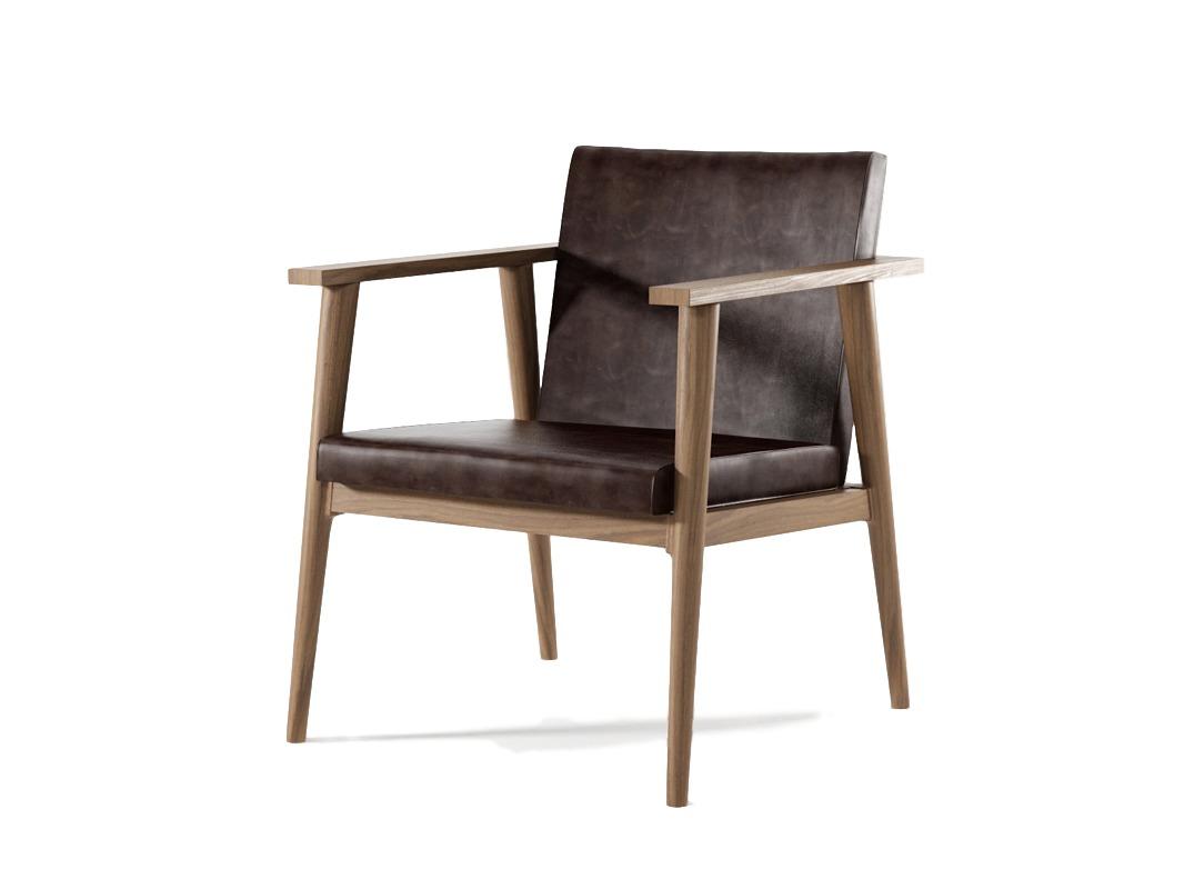 Кресло Vintage DBПолукресла<br>Создавая кресло Vintage DB, дизайнеры Karpenter вдохновлялись лучшими образцами классической мебели. Проверенной временем, стилем и вкусом. Силуэт строгий и даже, можно сказать, самоуверенный.&amp;amp;nbsp;<br><br>Material: Тик<br>Ширина см: 60<br>Высота см: 75<br>Глубина см: 64