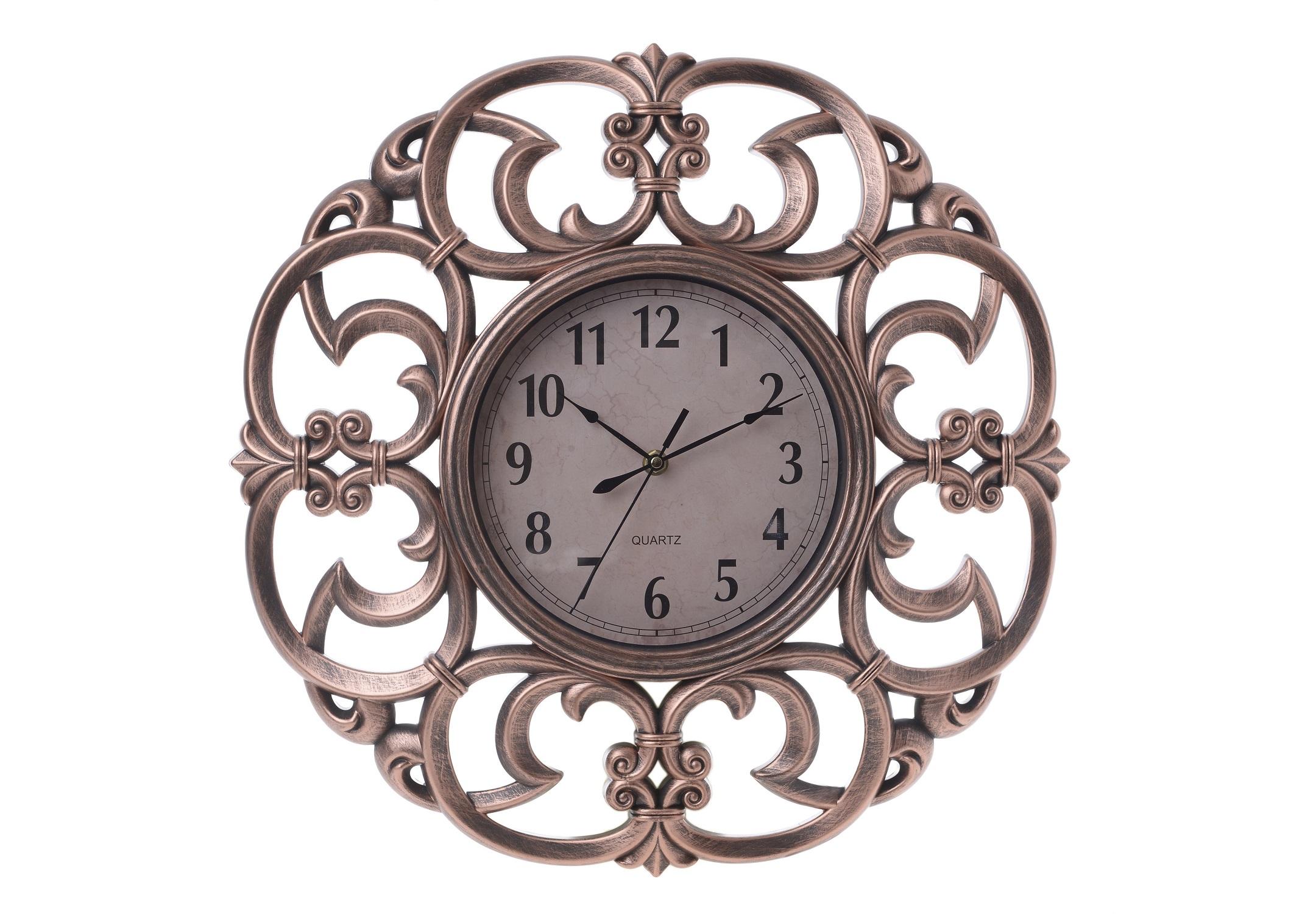 Часы настенные Esl?vНастенные часы<br>Кварцевый механизм.<br><br>Material: Пластик<br>Width см: None<br>Depth см: 5<br>Height см: None<br>Diameter см: 46