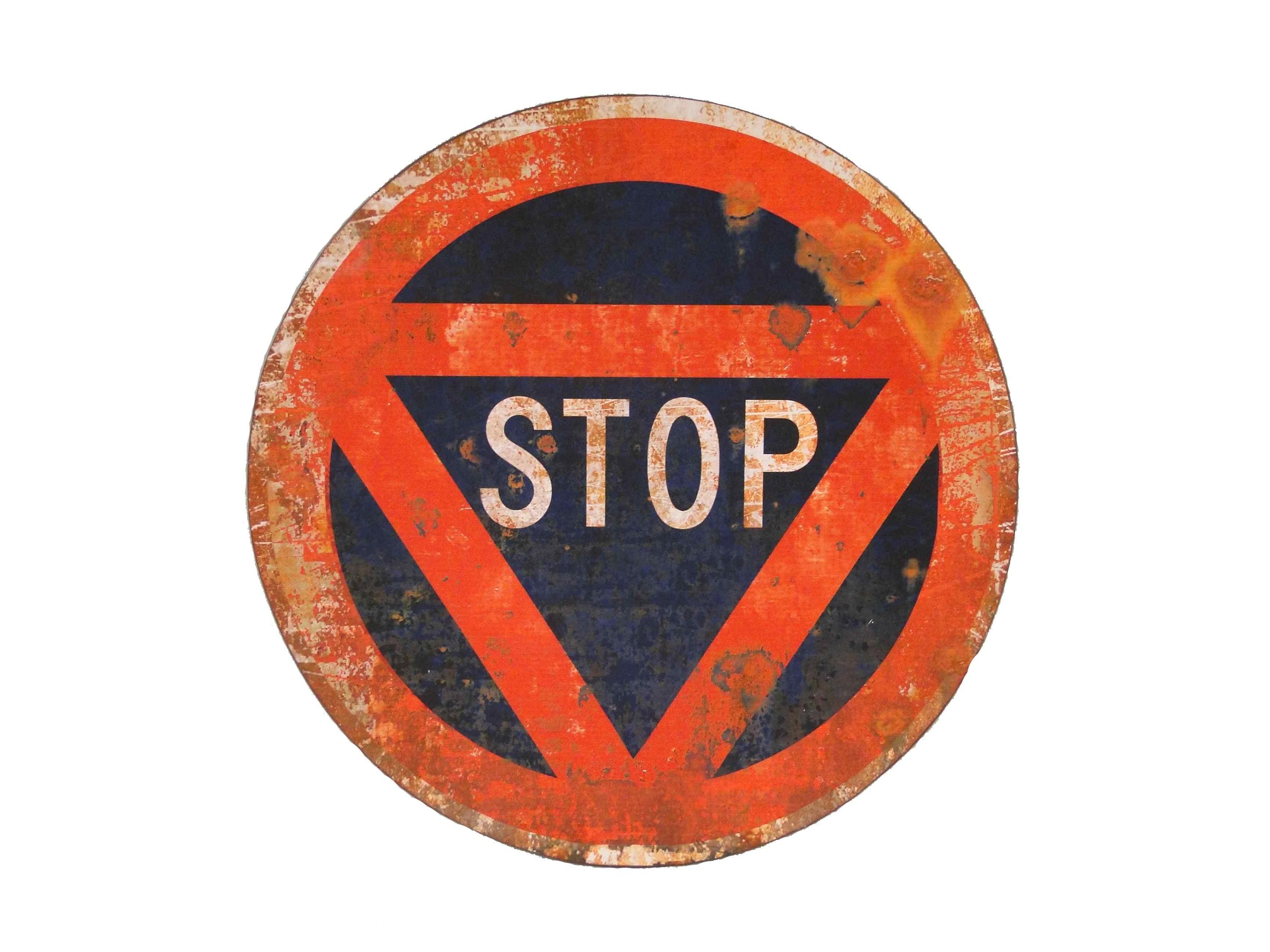 Знак StopДругое<br><br><br>Material: Железо