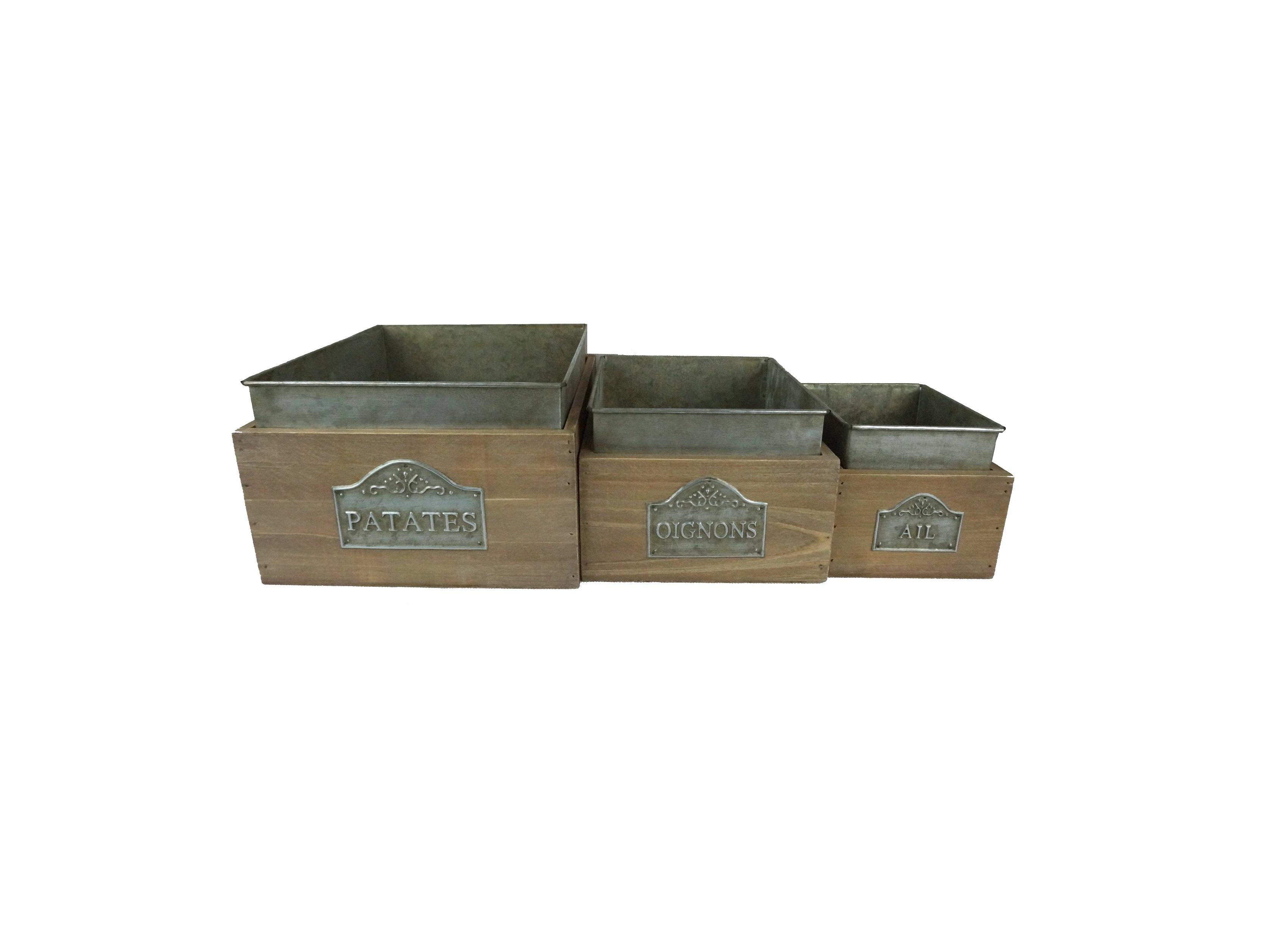 Набор коробок (3 шт)