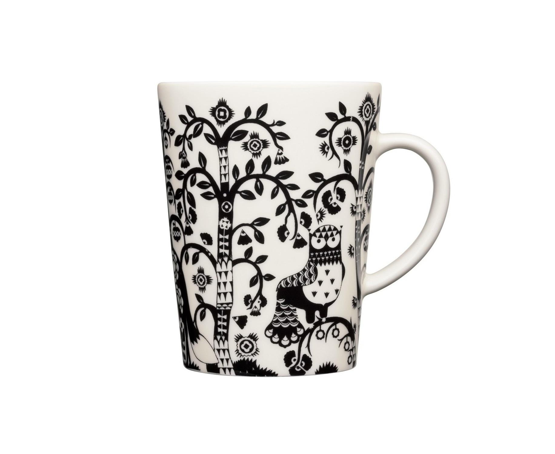 Чашка TaikaЧайные пары, чашки и кружки<br>На финском языке Taika означает «волшебство». Знаменитый финиский дизайнер и иллюстратор Klaus Haapaniemi хочет, чтобы его иллюстрации дали толчок вашему воображению. В сочетании с другими сериями Iittala, Taika позволяет прикоснуться к миру фантазии, впустить волшебство в нашу повседневную жизнь.<br><br>Material: Фарфор<br>Length см: None<br>Width см: 12<br>Depth см: 9<br>Height см: 11<br>Diameter см: None
