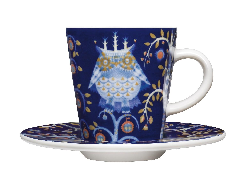 Чашка для кофе эспрессо TaikaЧайные пары, чашки и кружки<br>На финском языке Taika означает «волшебство». Знаменитый финиский дизайнер и иллюстратор Klaus Haapaniemi хочет, чтобы его иллюстрации дали толчок вашему воображению. В сочетании с другими сериями Iittala, Taika позволяет прикоснуться к миру фантазии, впустить волшебство в нашу повседневную жизнь.<br><br>Material: Фарфор<br>Length см: None<br>Width см: 8<br>Depth см: 6<br>Height см: 6<br>Diameter см: None