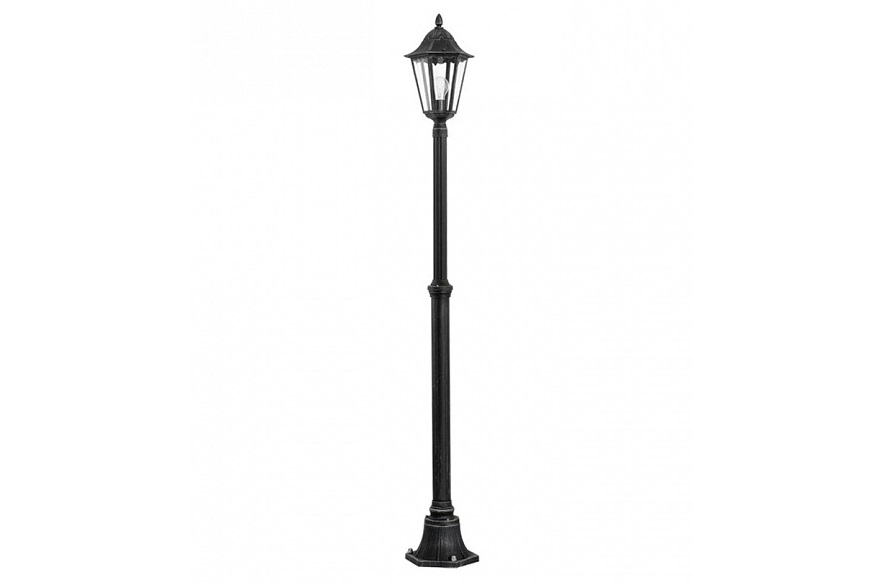 Фонарный столб navedo (eglo) черный 200 см. фото