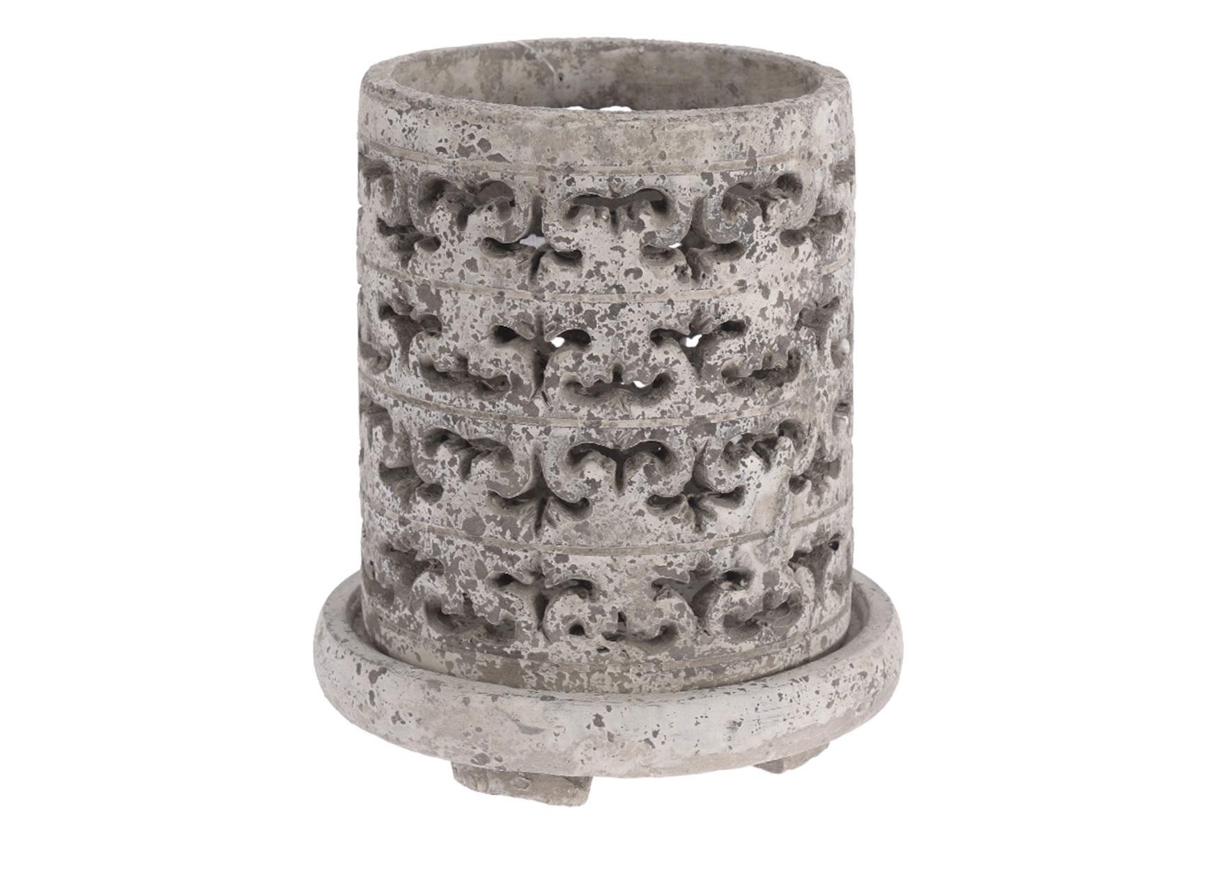 Подсвечник La CarlotaПодсвечники<br><br><br>Material: Керамика<br>Ширина см: 18.0<br>Высота см: 20.0<br>Глубина см: 18.0