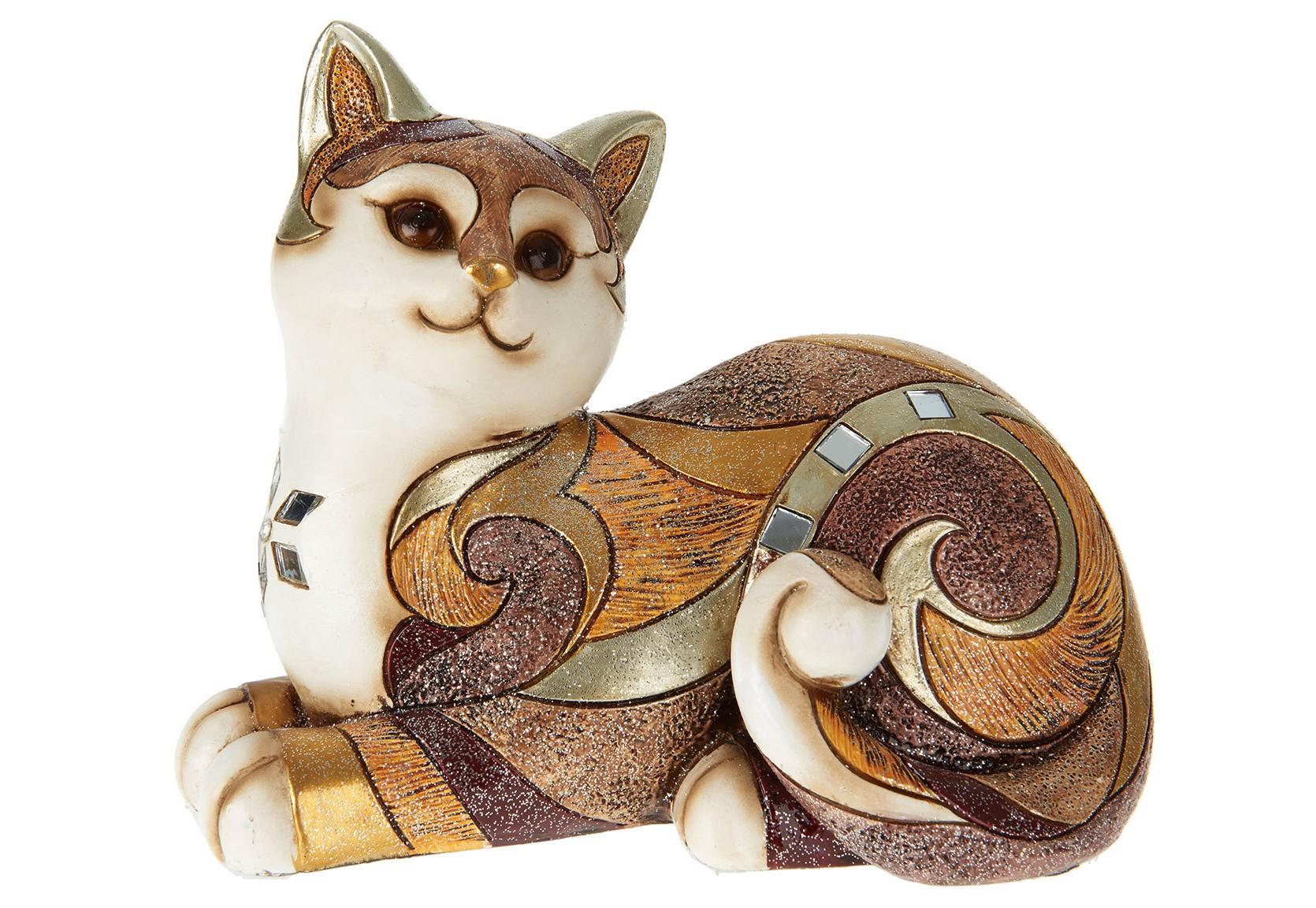 Статуэтка кошка Mina ClaveroСтатуэтки<br><br><br>Material: Полистоун<br>Length см: None<br>Width см: 17<br>Depth см: 10<br>Height см: 15