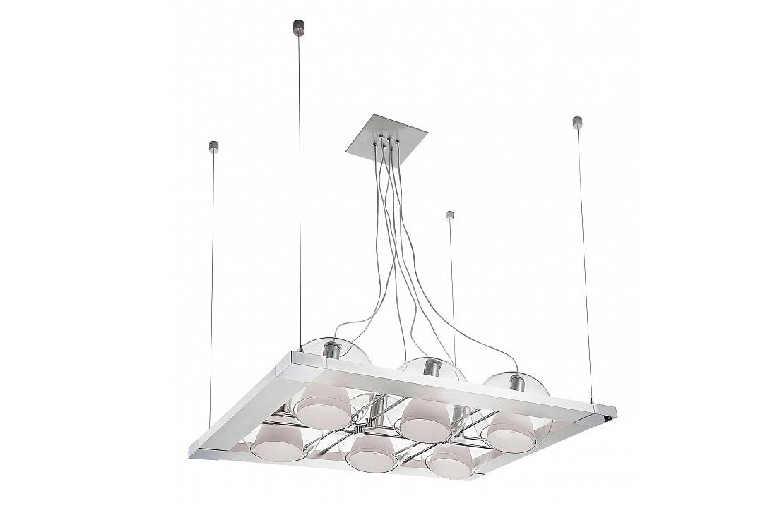 Подвесной светильник CosmoПодвесные светильники<br>&amp;lt;div&amp;gt;Вид цоколя: E14&amp;lt;/div&amp;gt;&amp;lt;div&amp;gt;Мощность: 40W&amp;lt;/div&amp;gt;&amp;lt;div&amp;gt;Количество ламп: 6 (нет в комплекте)&amp;lt;/div&amp;gt;&amp;lt;div&amp;gt;&amp;lt;br&amp;gt;&amp;lt;/div&amp;gt;&amp;lt;div&amp;gt;Материал арматуры: металл&amp;lt;/div&amp;gt;&amp;lt;div&amp;gt;Материал плафонов и подвесок: стекло&amp;lt;/div&amp;gt;<br><br>Material: Металл<br>Ширина см: 95<br>Высота см: 120<br>Глубина см: 67