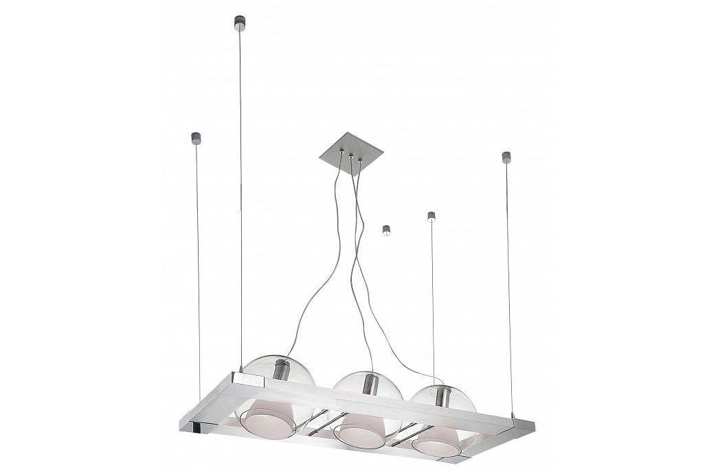 Подвесной светильник CosmoПодвесные светильники<br>&amp;lt;div&amp;gt;Вид цоколя: E14&amp;lt;/div&amp;gt;&amp;lt;div&amp;gt;Мощность: 40W&amp;lt;/div&amp;gt;&amp;lt;div&amp;gt;Количество ламп: 3 (нет в комплекте)&amp;lt;/div&amp;gt;&amp;lt;div&amp;gt;&amp;lt;br&amp;gt;&amp;lt;/div&amp;gt;&amp;lt;div&amp;gt;Материал арматуры: металл&amp;lt;/div&amp;gt;&amp;lt;div&amp;gt;Материал плафонов и подвесок: стекло&amp;lt;/div&amp;gt;<br><br>Material: Металл<br>Ширина см: 95<br>Высота см: 120<br>Глубина см: 38