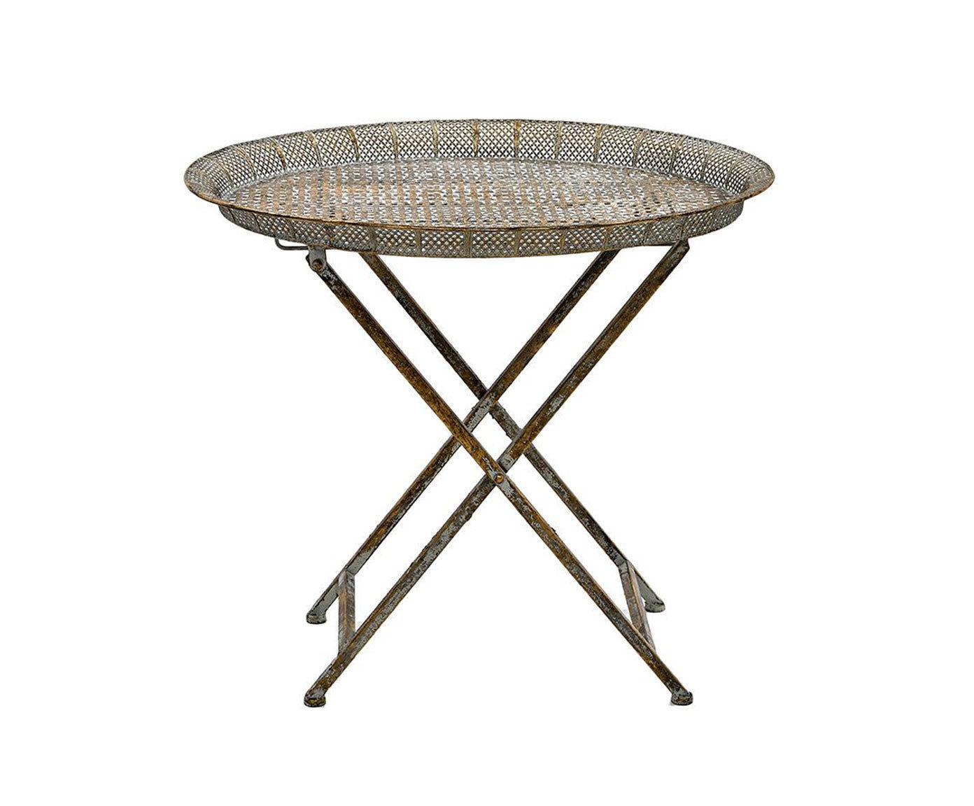 Стол-поднос MerloСервировочные столики<br><br><br>Material: Металл<br>Ширина см: 56.0<br>Высота см: 50.0<br>Глубина см: 43.0