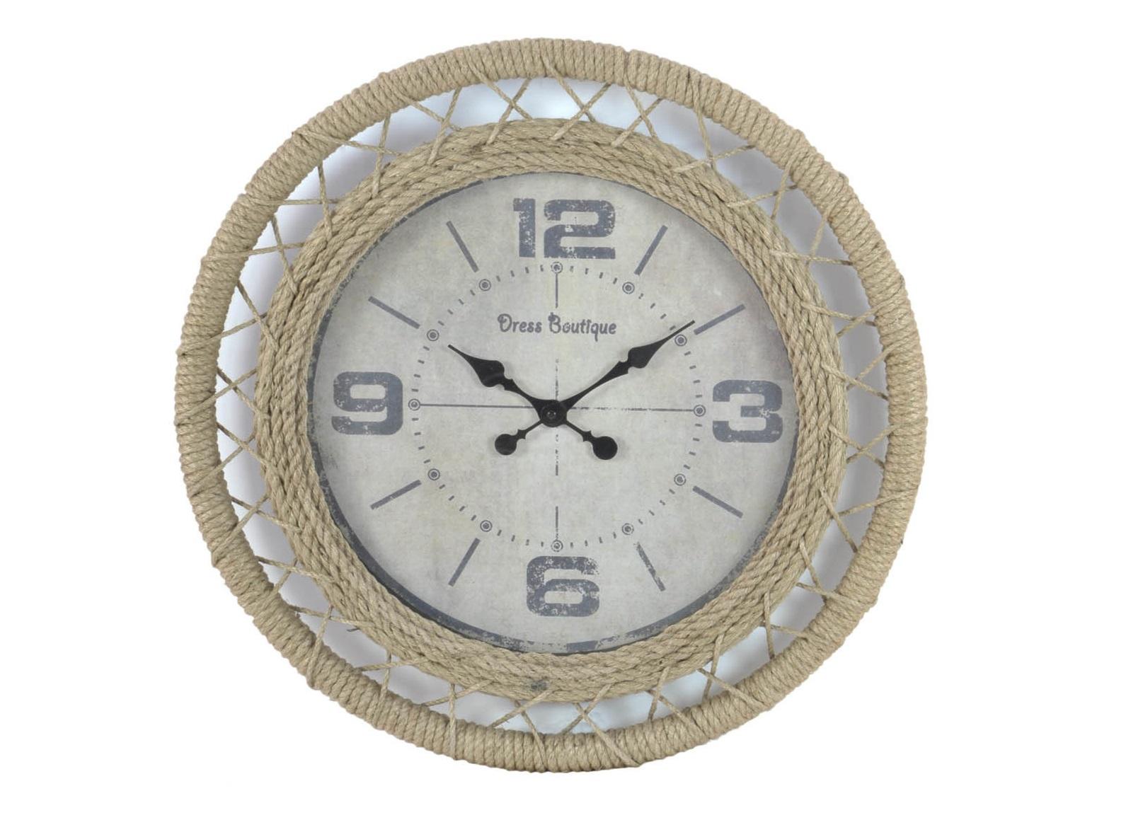 Часы настенные B?ccarНастенные часы<br>Часы настенные - кварцевый механизм&amp;lt;div&amp;gt;&amp;lt;br&amp;gt;&amp;lt;/div&amp;gt;&amp;lt;div&amp;gt;Материал: дерево, металл, джут&amp;lt;br&amp;gt;&amp;lt;/div&amp;gt;<br><br>Material: Джут<br>Width см: None<br>Depth см: 6<br>Height см: None<br>Diameter см: 60