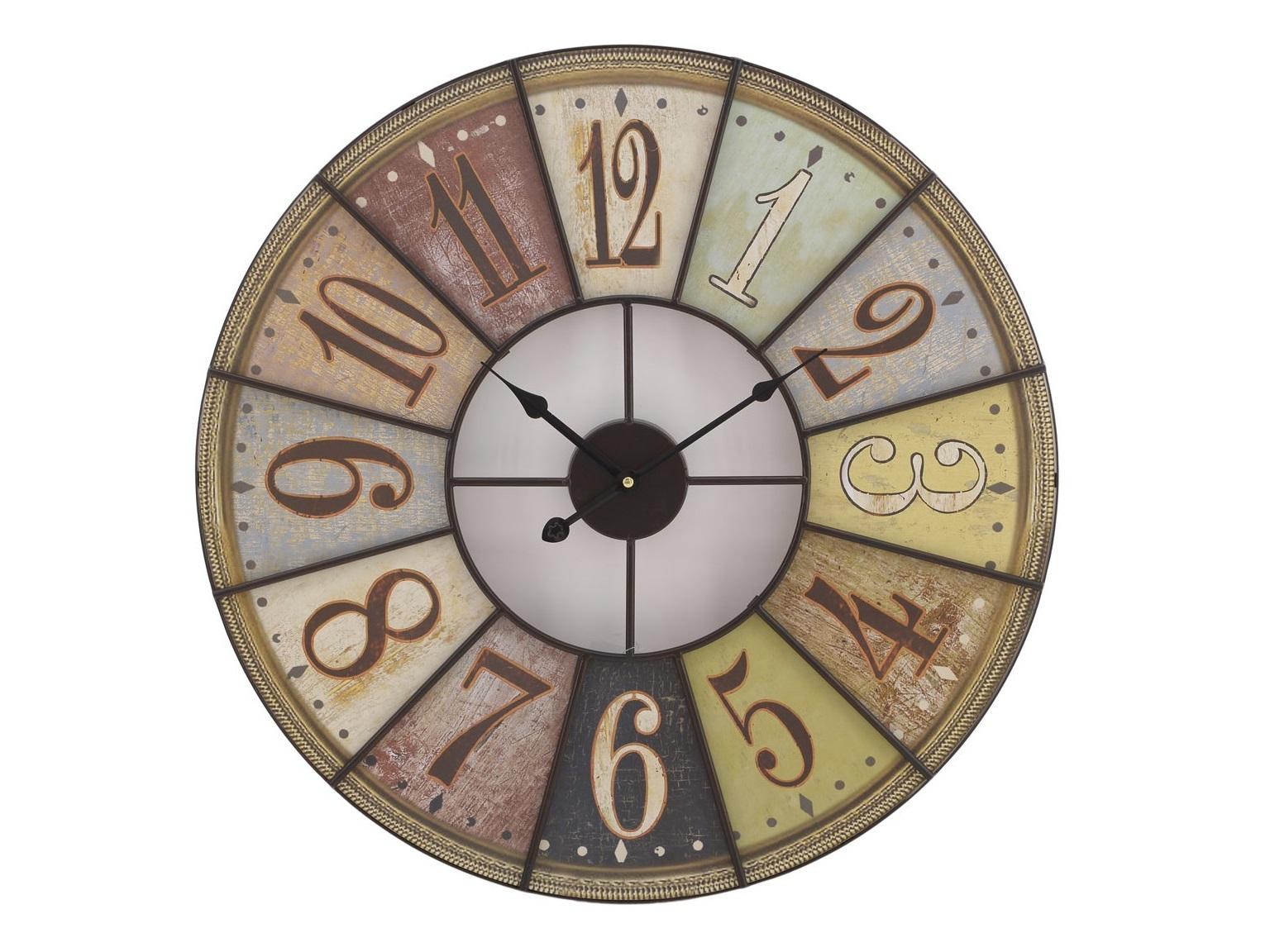 Часы настенные BerazateguiНастенные часы<br>Часы настенные - кварцевый механизм<br><br>Material: Металл<br>Width см: None<br>Depth см: 4<br>Height см: None<br>Diameter см: 58
